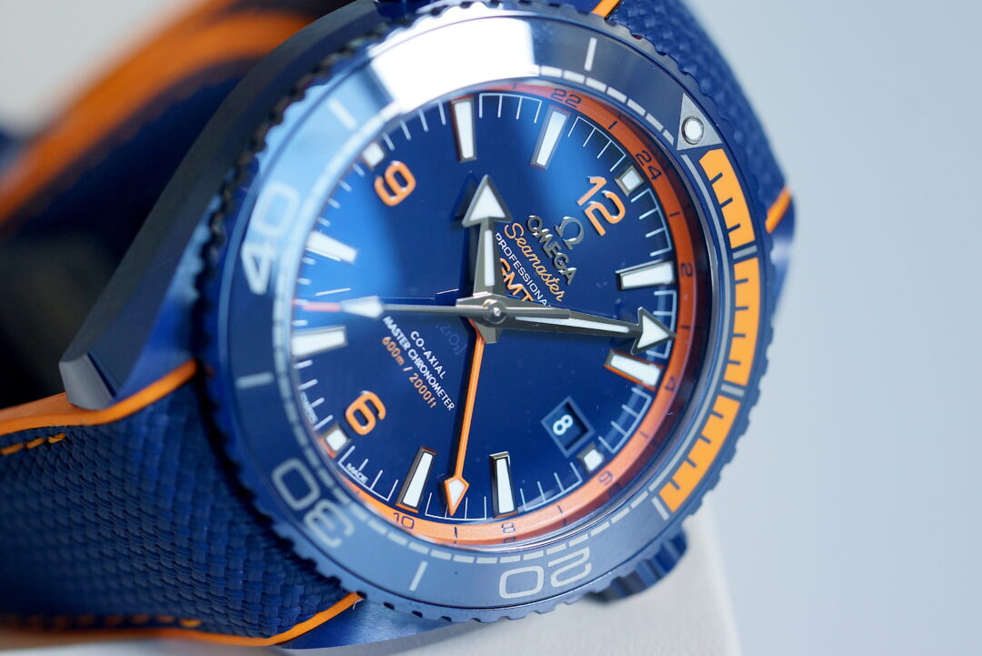 "Omega Seamaster Planet Ocean Co-Axial Master Chronometer ""Big Blue"""