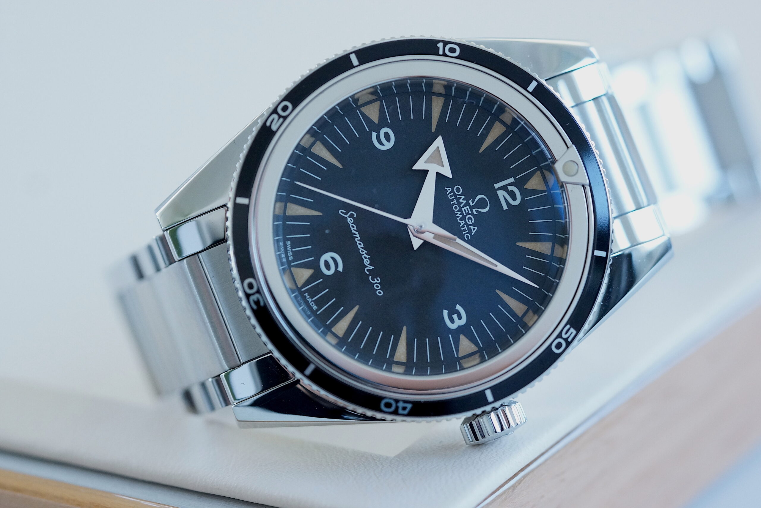 Omega 1957 Trilogy SEAMASTER 300 Master Co-Axial Chronometer