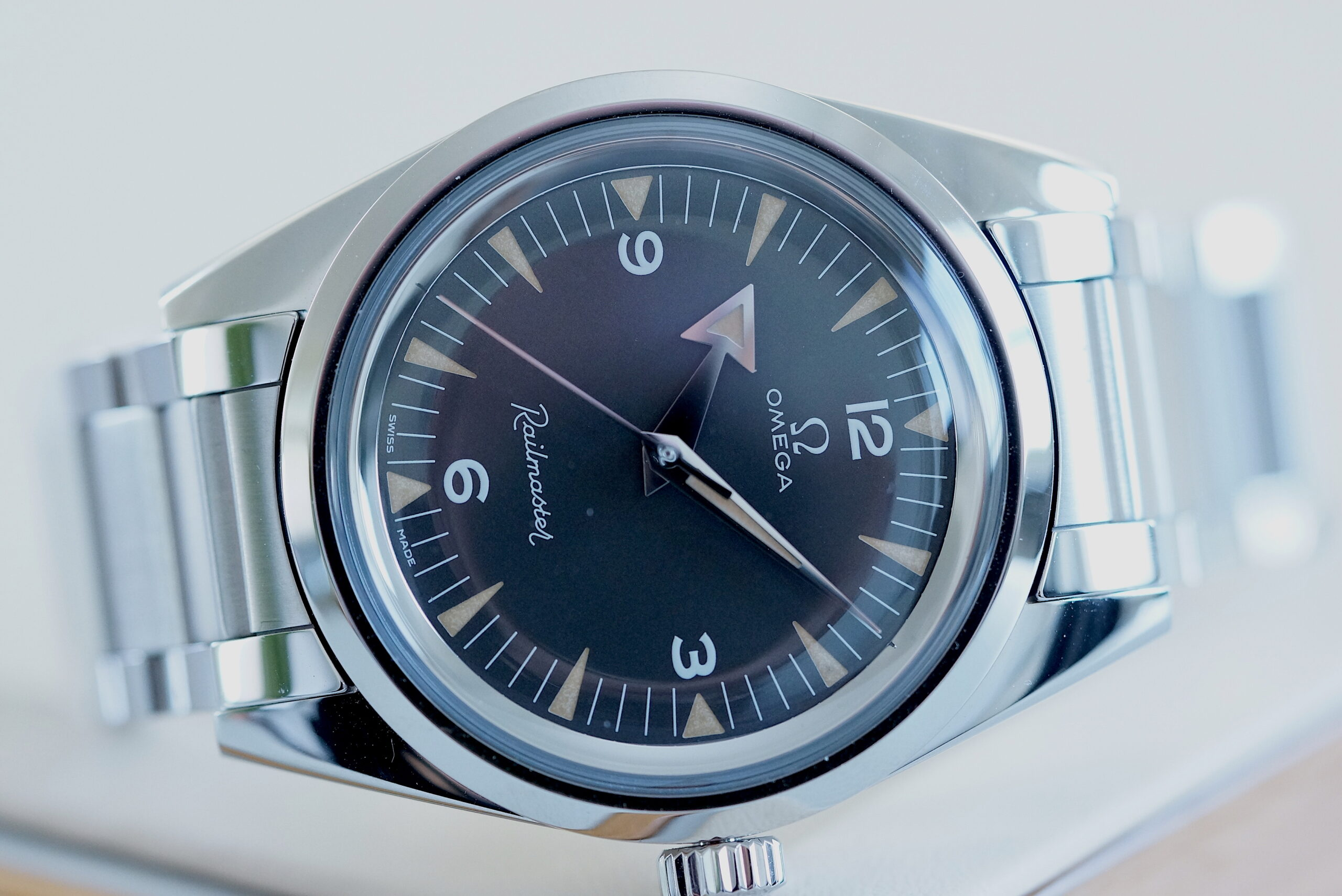 Omega 1957 Trilogy RAILMASTER Master Co-Axial Chronometer
