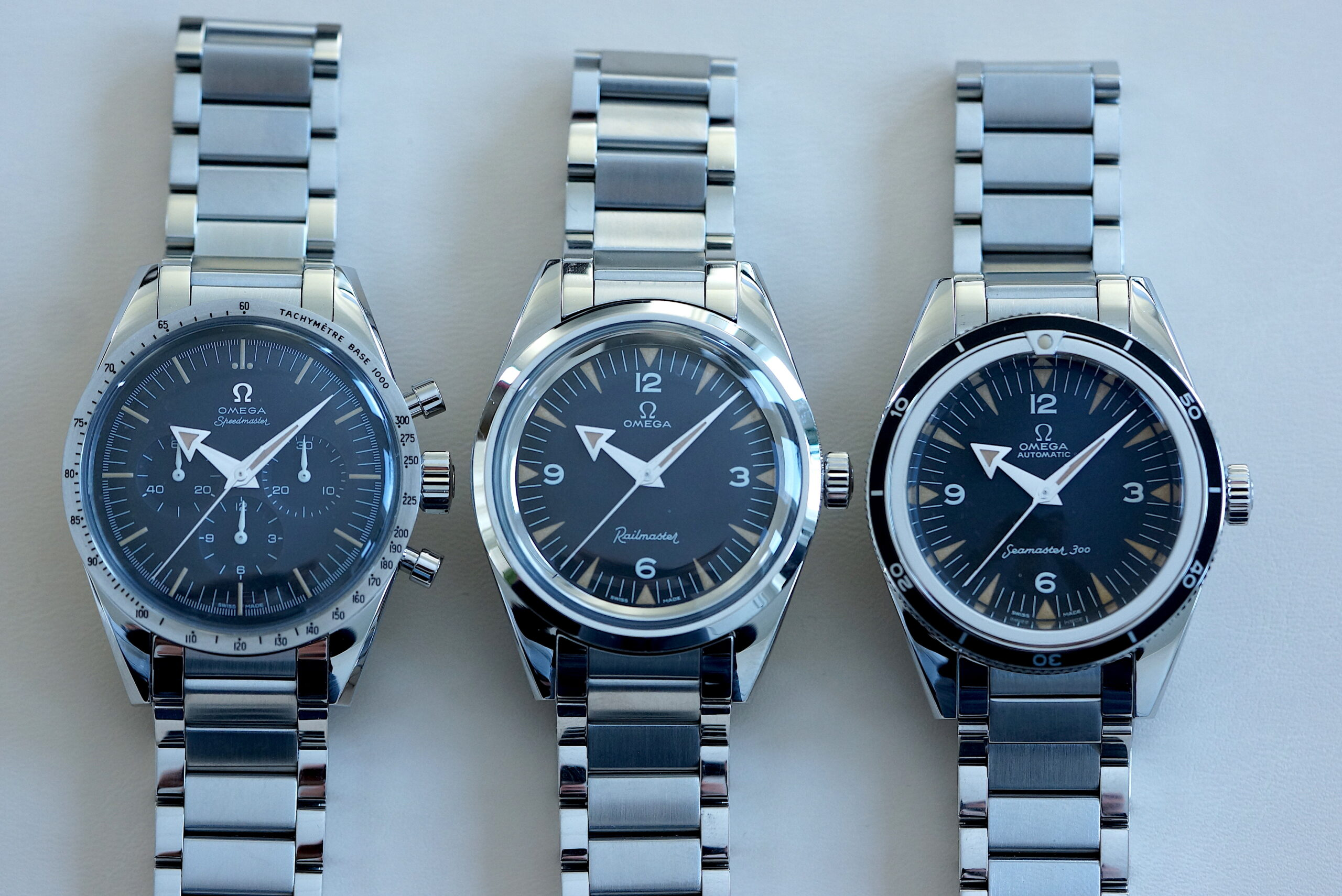 Omega 1957 Trilogy 60th Anniversary Limited Editions