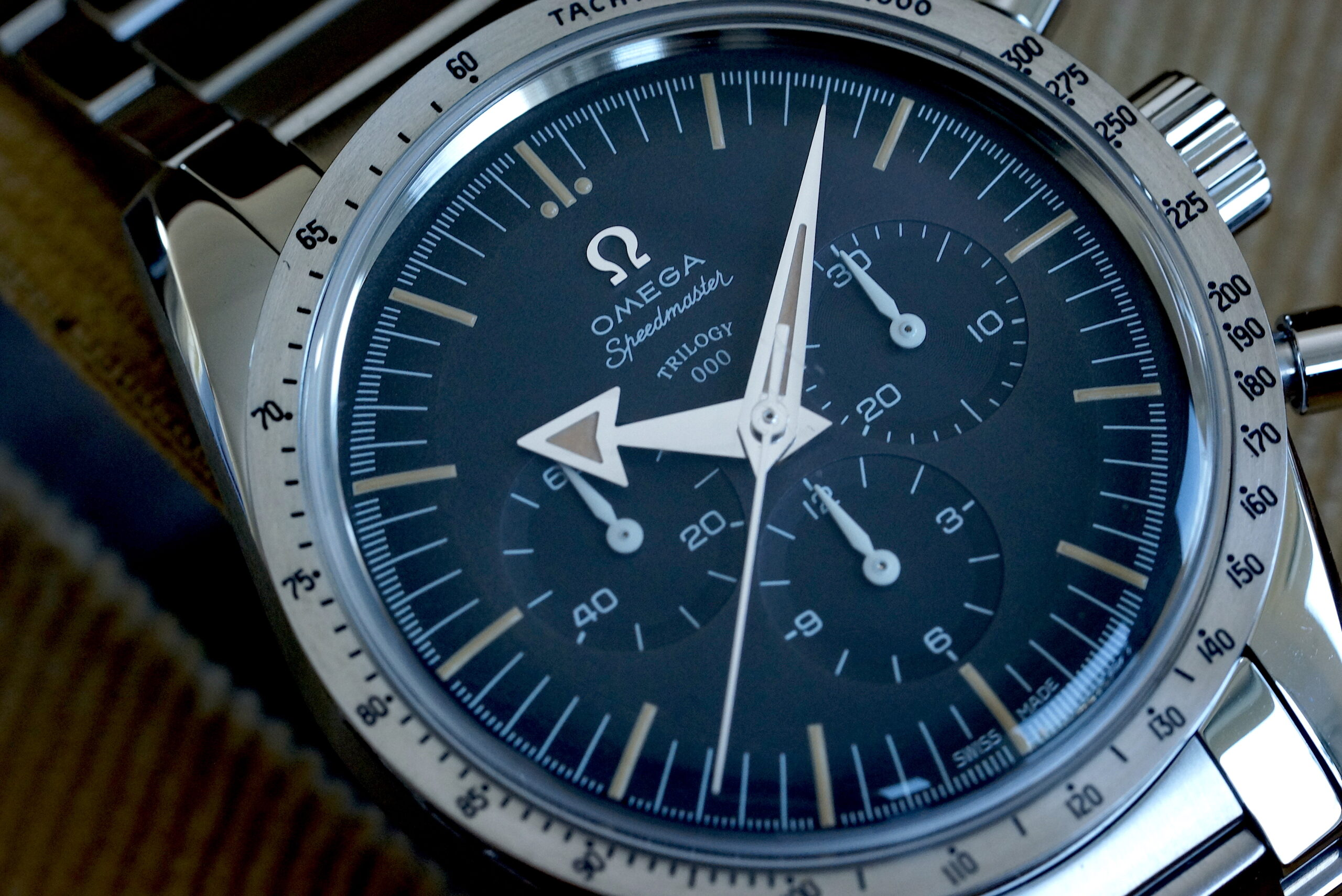 Omega 1957 Trilogy SPEEDMASTER Calibre 1861 from TRIO Set