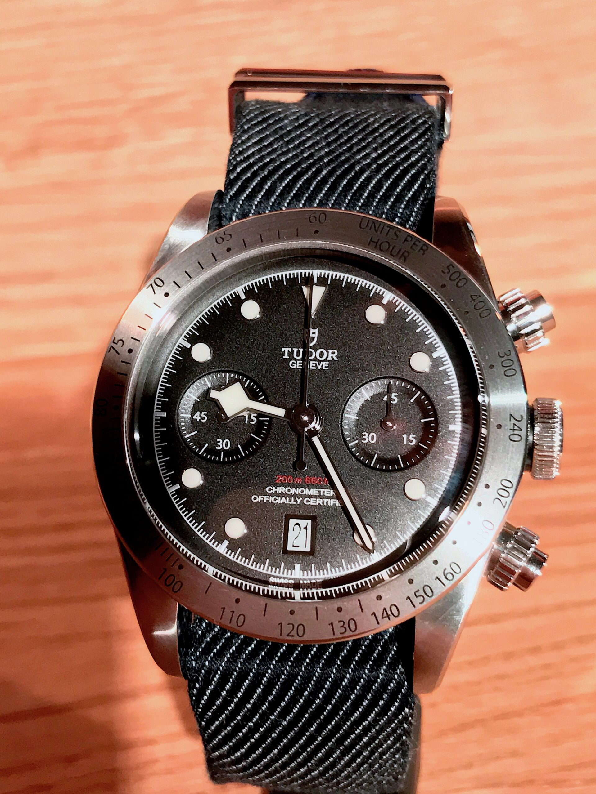 Tudor Black Bay Chronograph