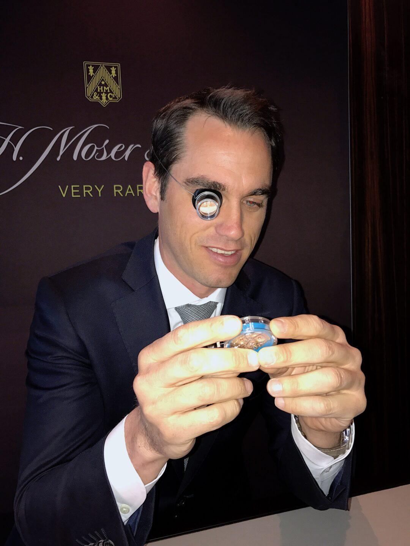 Edouard Meylan, CEO H. Moser & Cie.