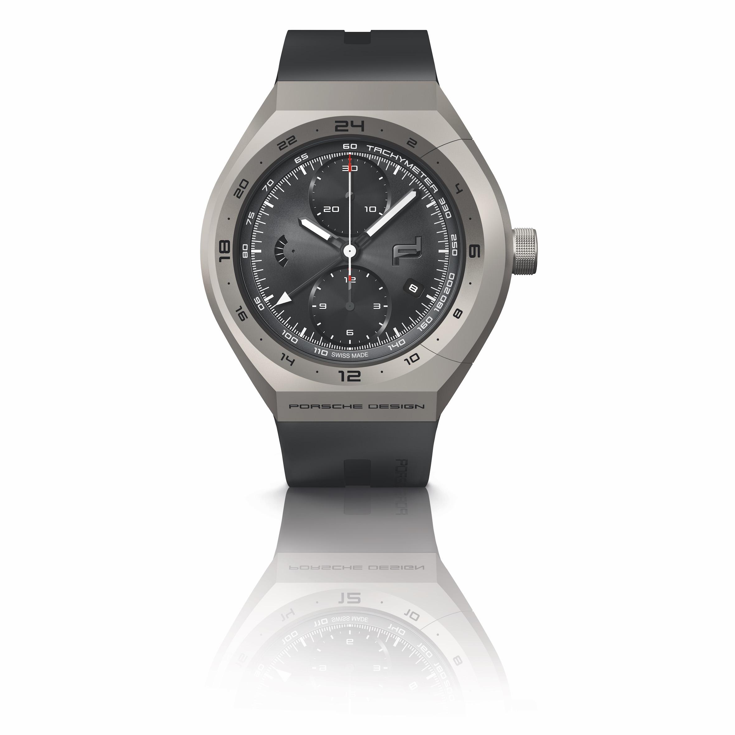Porsche Design Monobloc Actuartor GMT Chronograph Titanium & Rubber