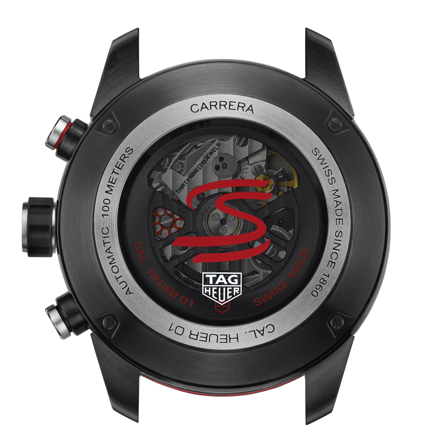 TAG HeuerCarrera Heuer-01 chronograph