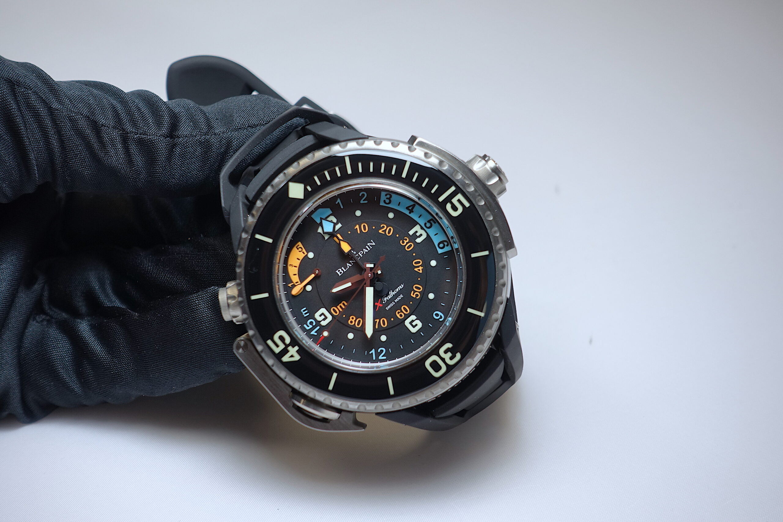 Blancpain X Fathoms - live taken pictures