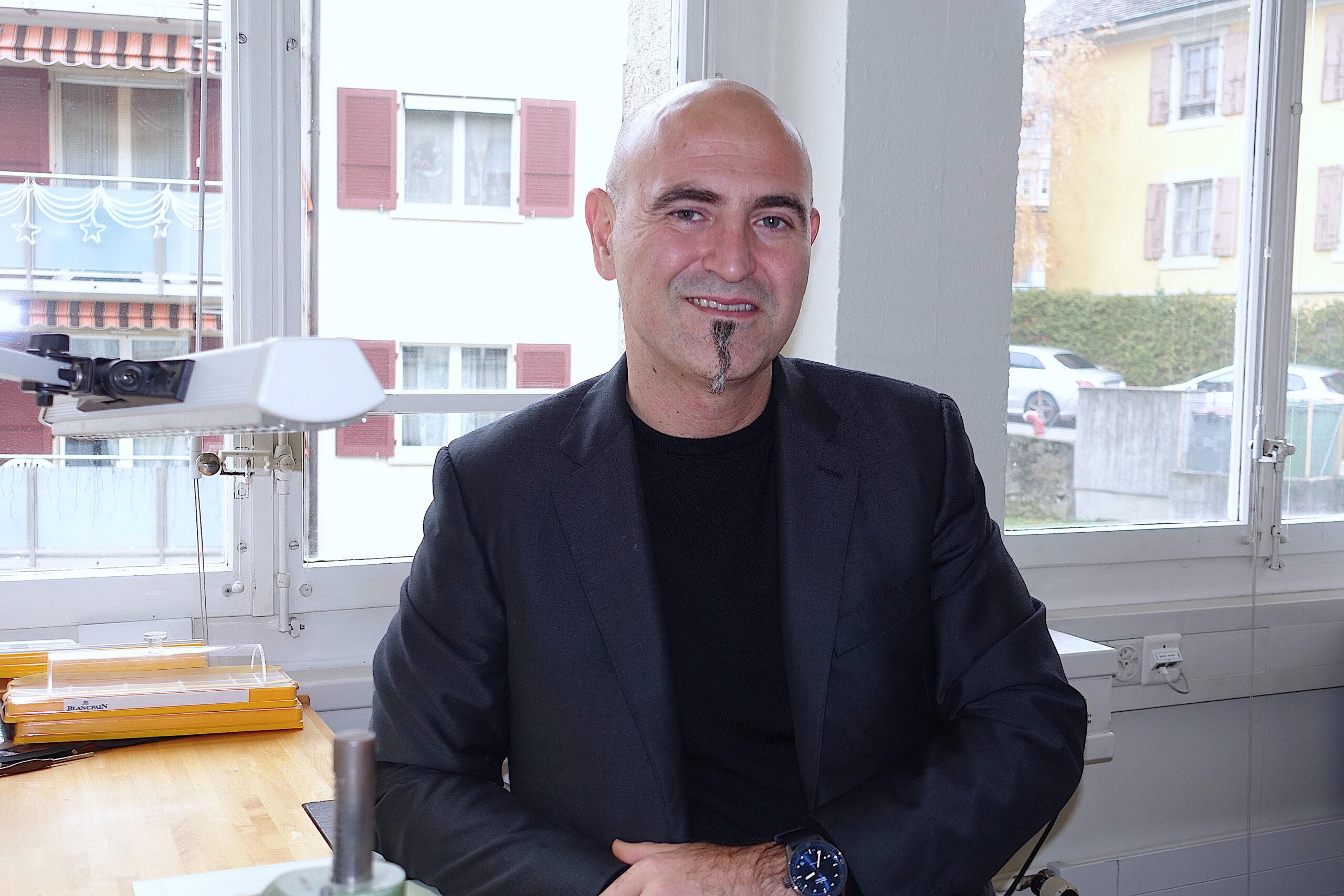 Blancpain-CEO Marc Hayek