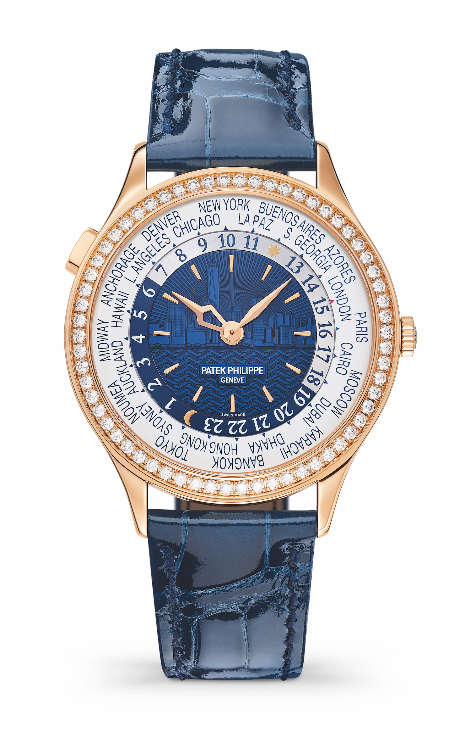 Patek Philippe Ladies' World Time Ref. 7130 New York 2017 Special Edition