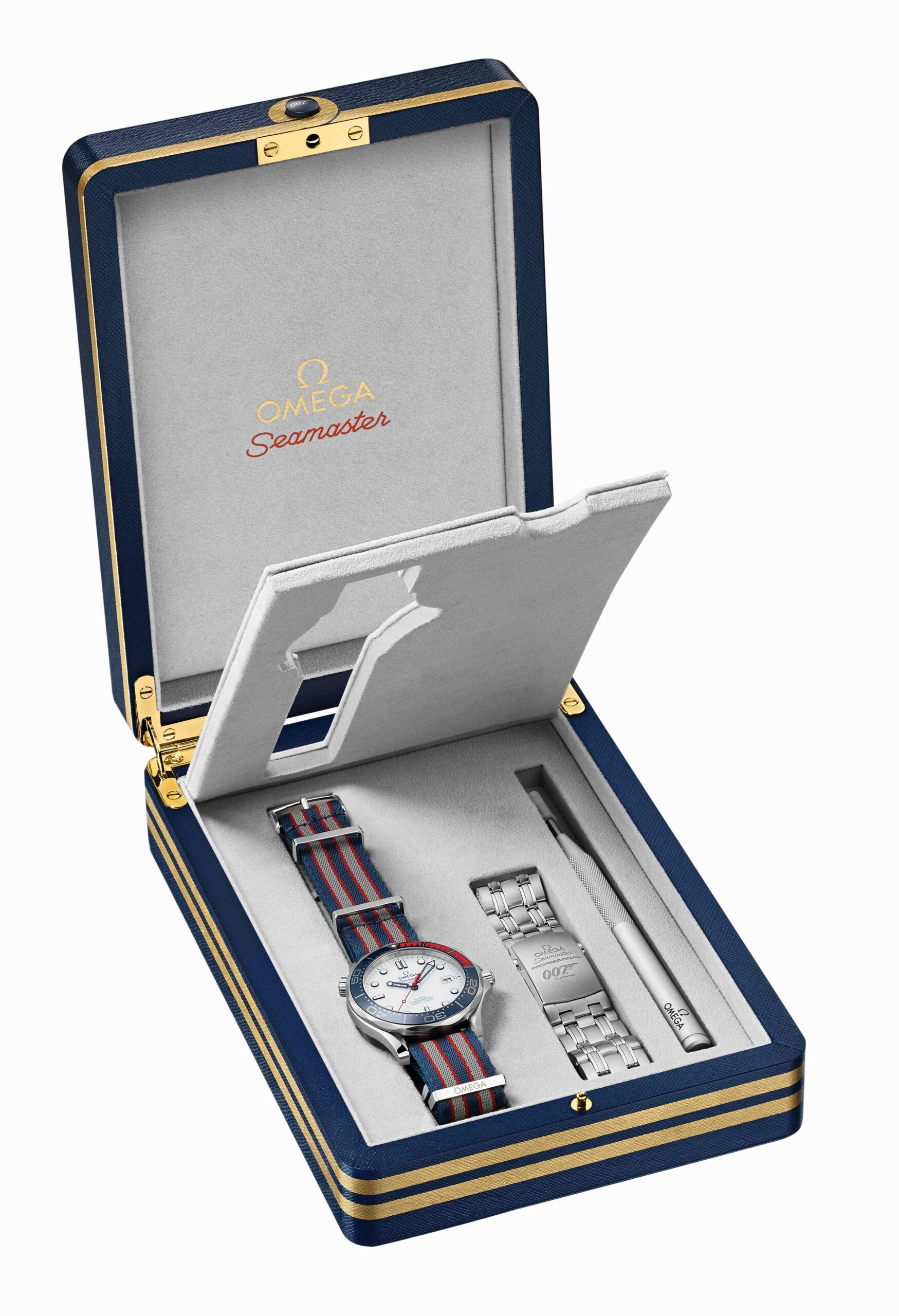 """Omega Seamaster Diver 300M """"Commander's Watch"""" Limited Edition"""