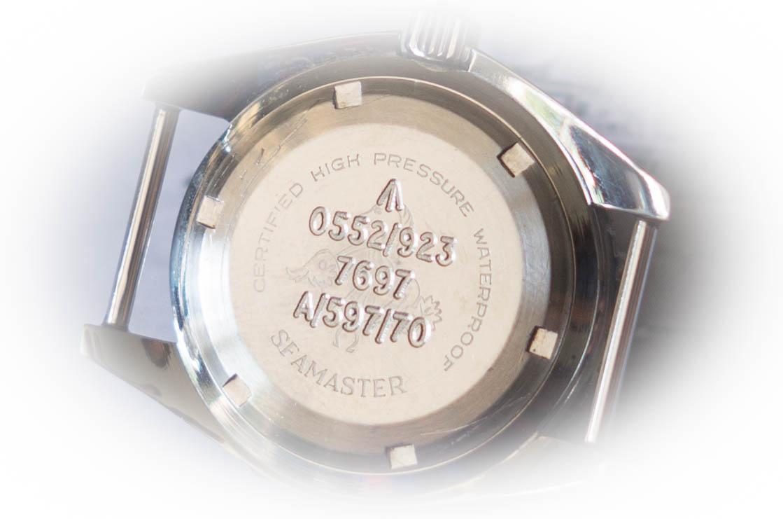 Omega Seamaster 300 vintage caseback