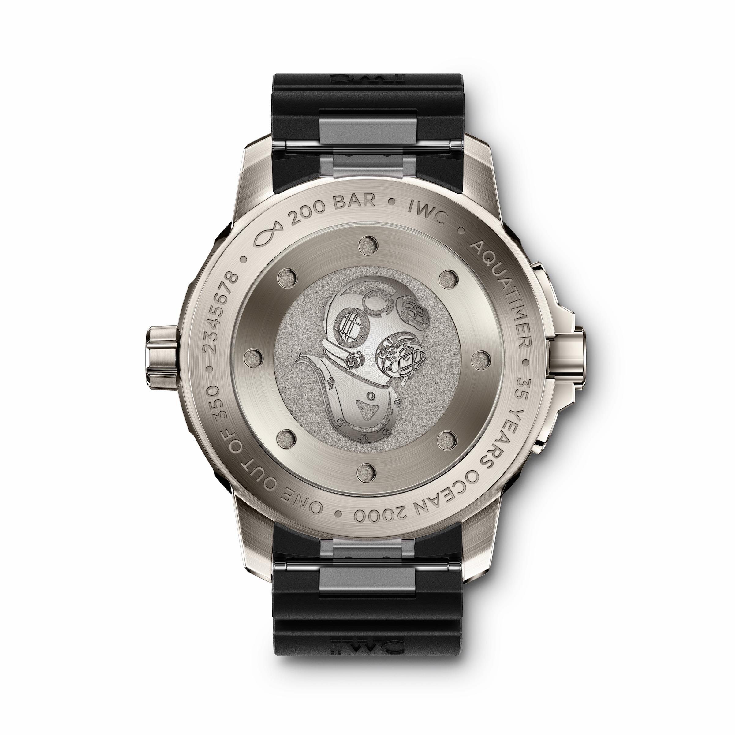"""IWC Schaffhausen Aquatimer Automatic 2000 Edition """"35 Years Ocean 2000"""""""