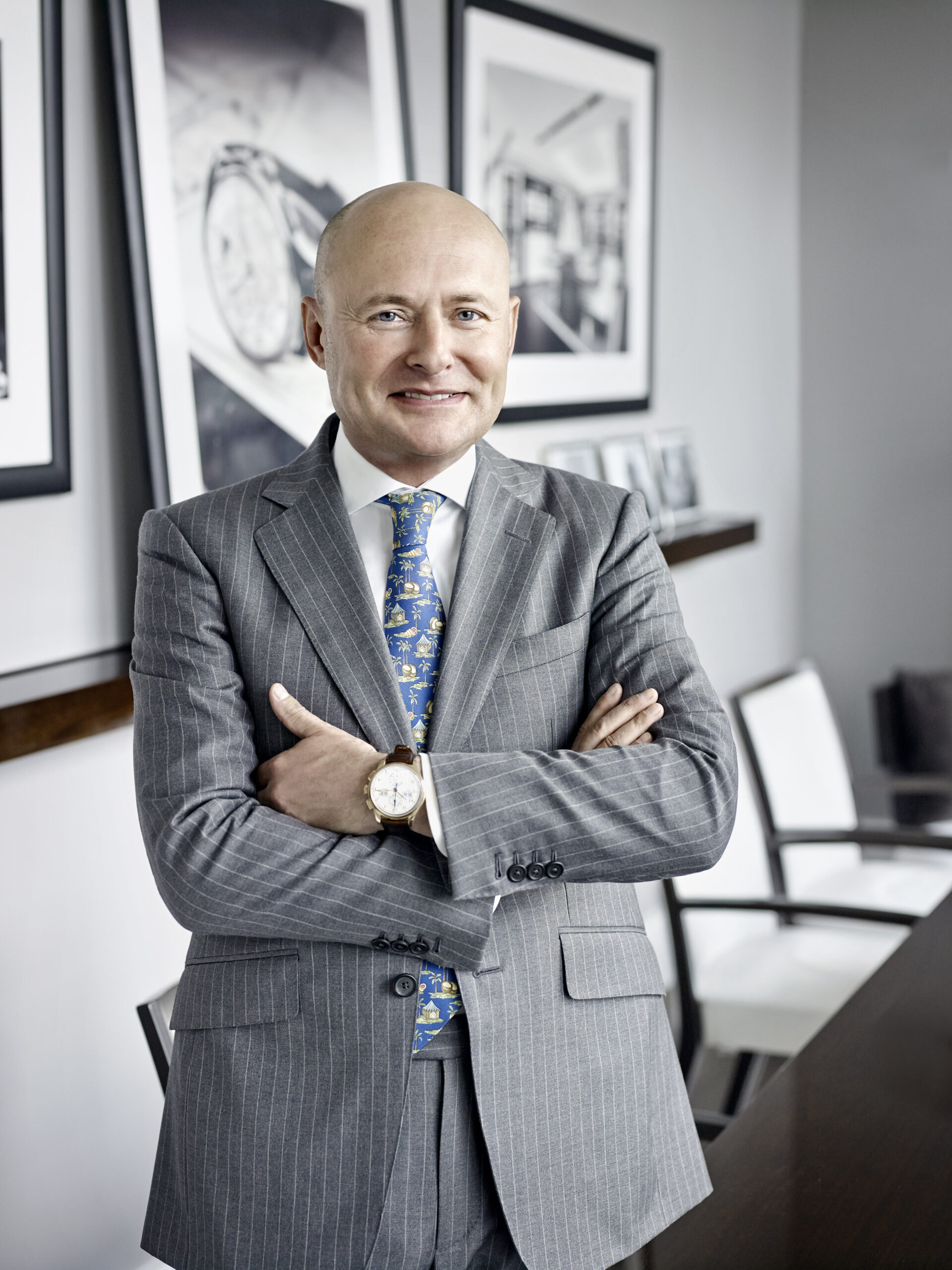 Georges Kern, 2015 when he was the CEO of IWC Schaffhausen