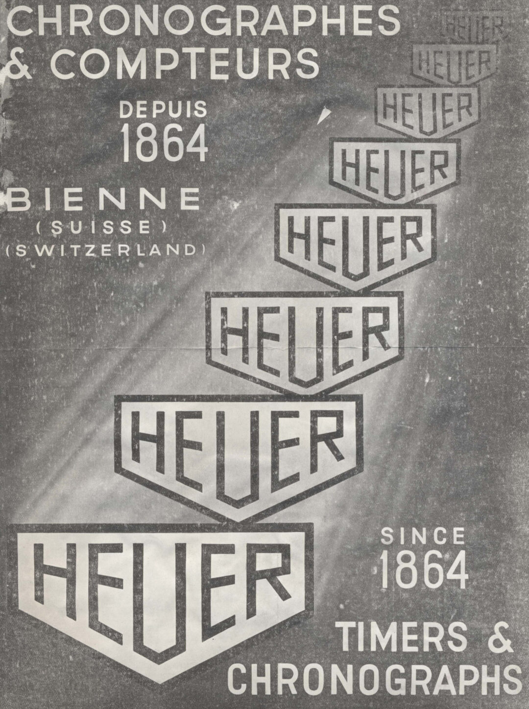 Heuer advert from 1936
