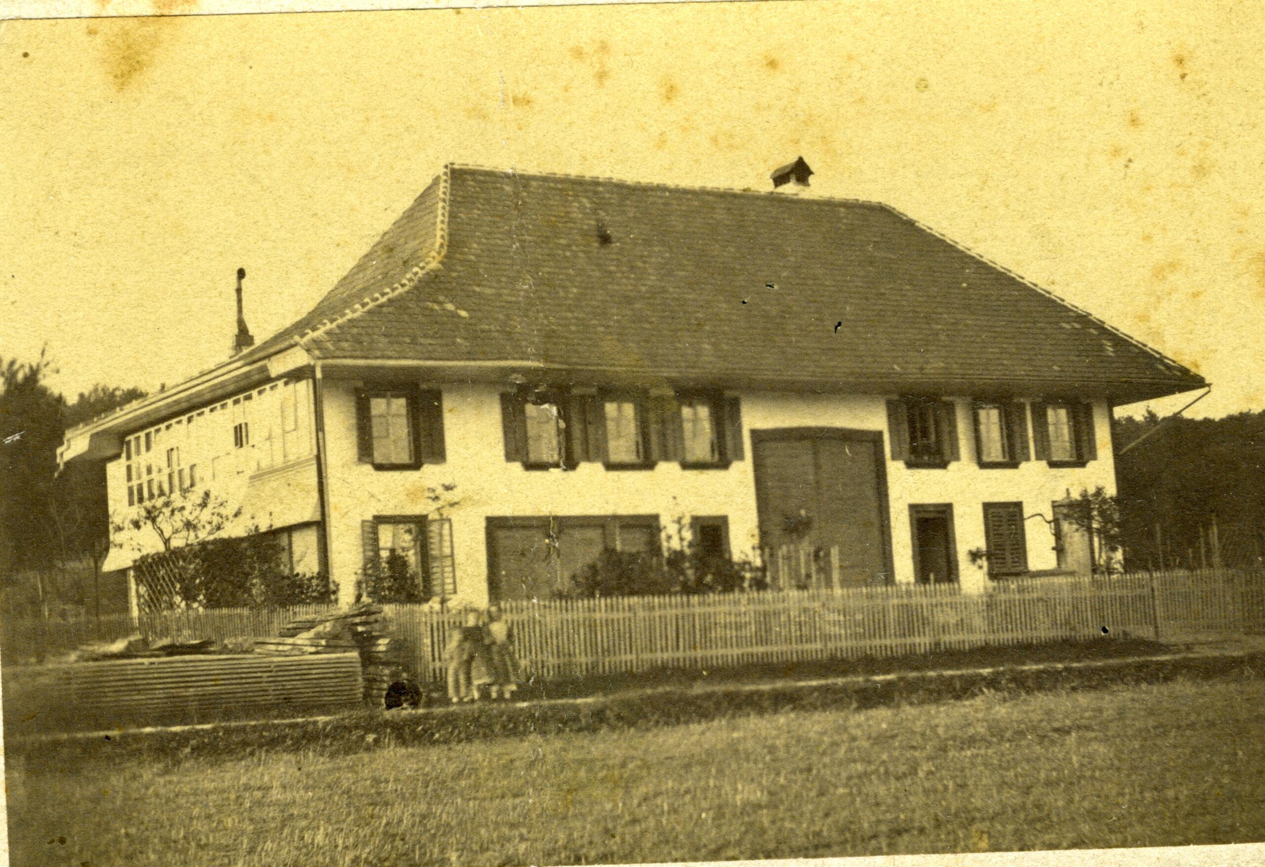 The very early Heuer atelier in Brugg / Switzerland 1864 - 1867