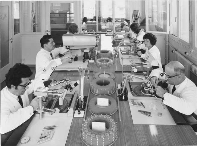 Heuer manufacture in Biel / Switzerland 1968