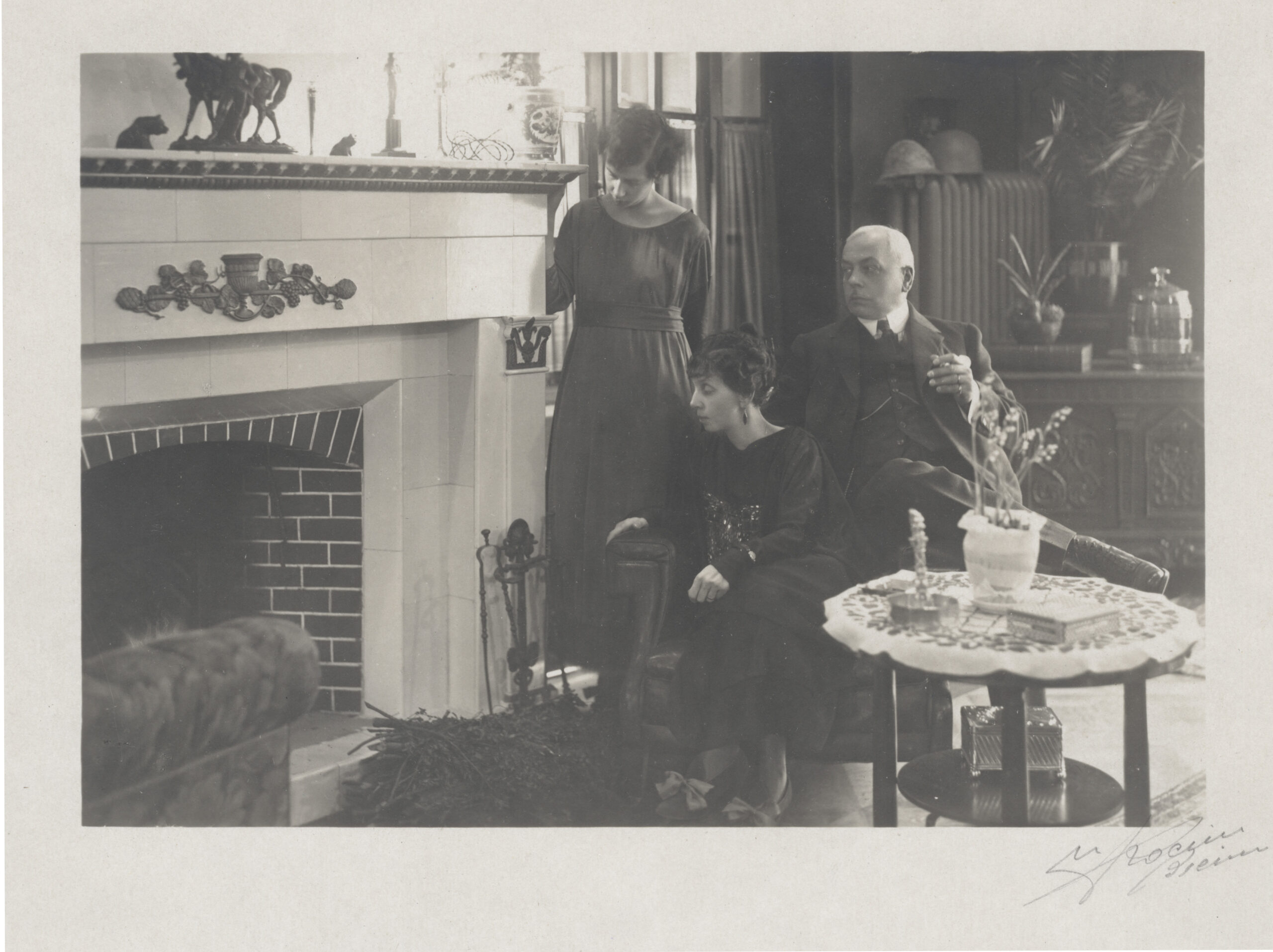 Charles-Auguste Heuer and his family