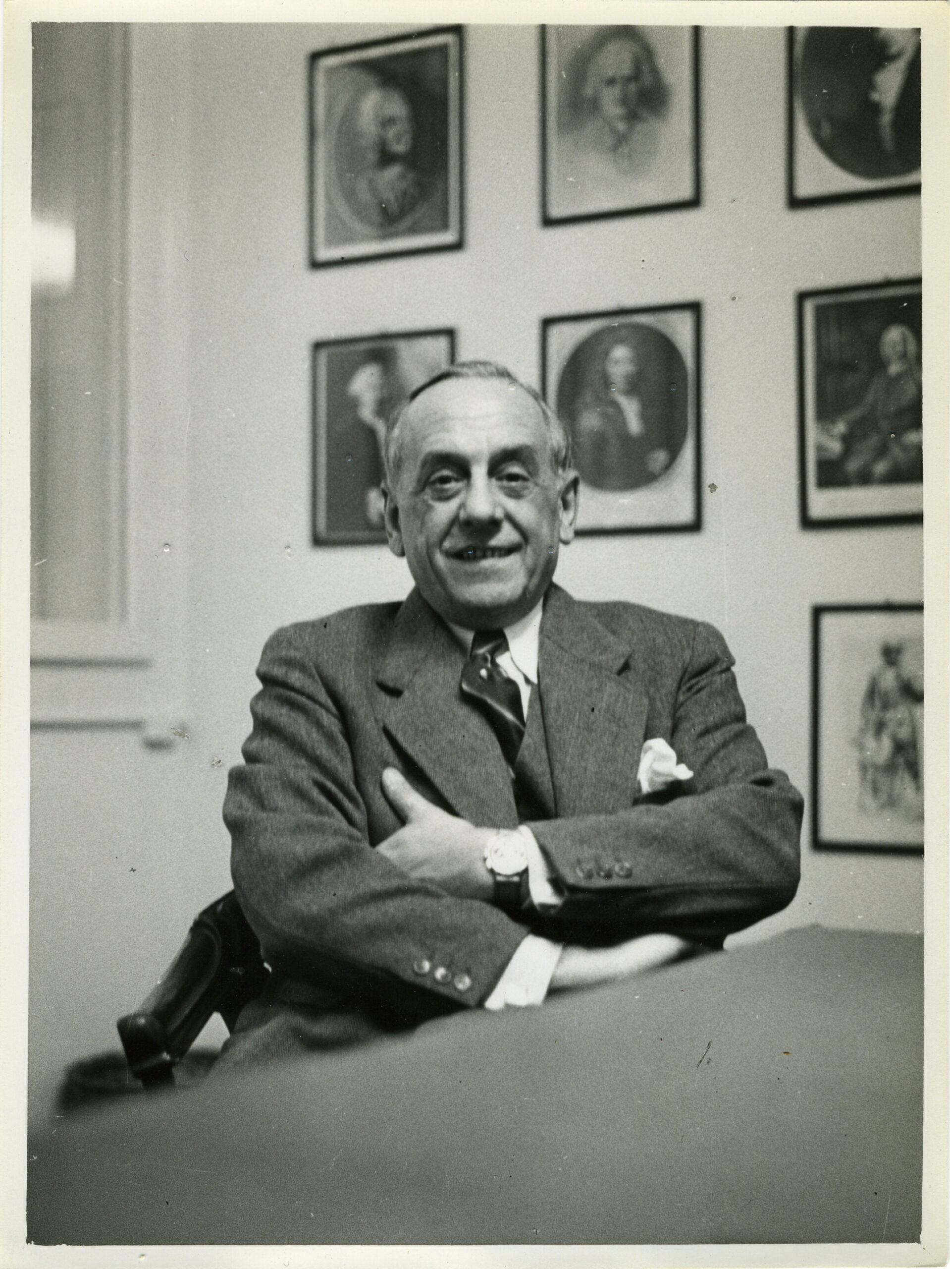 Charles-Edouard Heuer in the year 1953