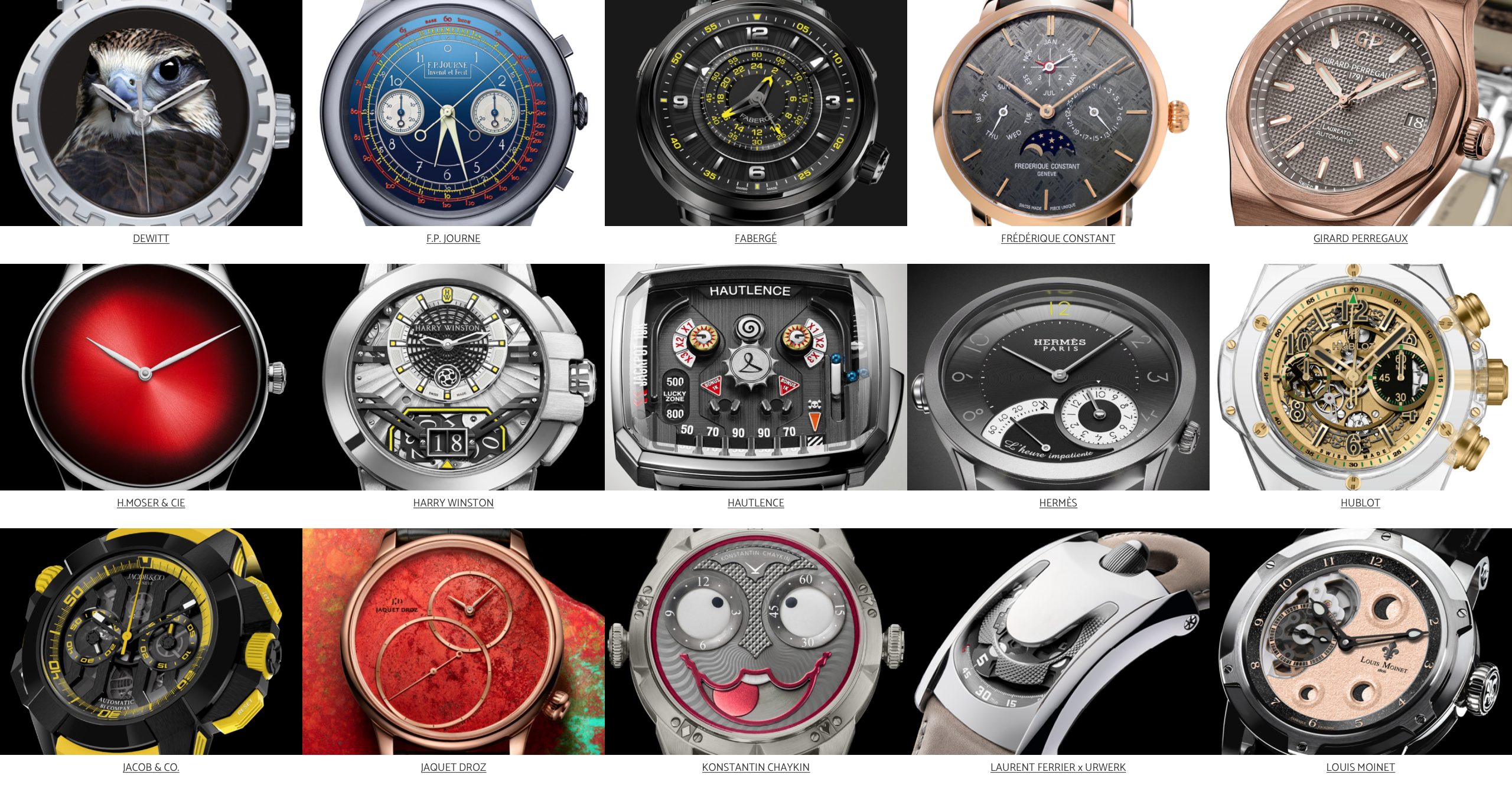 Only Watch 2017 @OnlyWatch2017