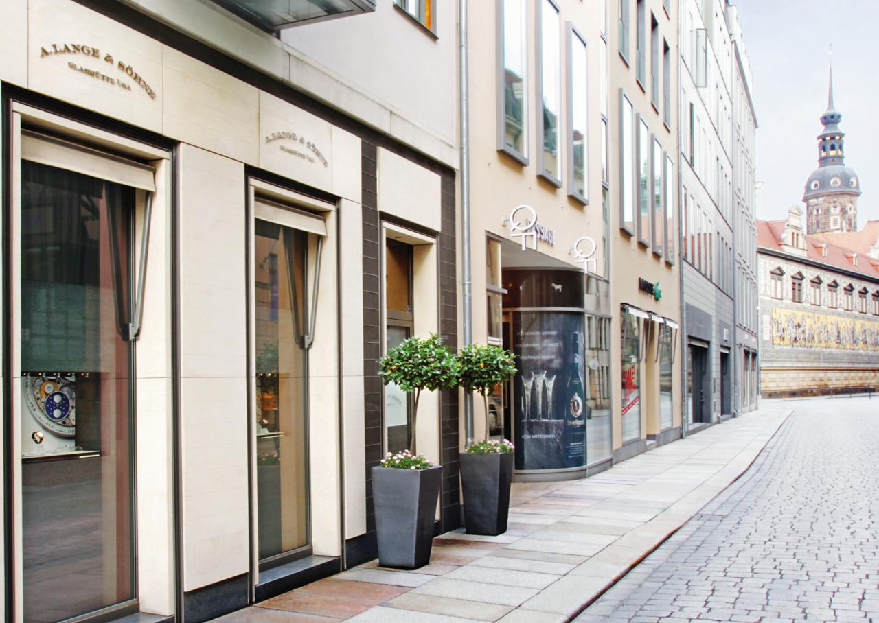 The A. Lange & Söhne Boutique located in the center of Dresden