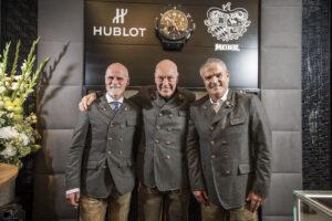 Markus Meindl, Jean-Claude Biver and Ricardo Guadaloupe