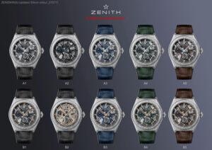 Zenith Defy Lab 10 watches