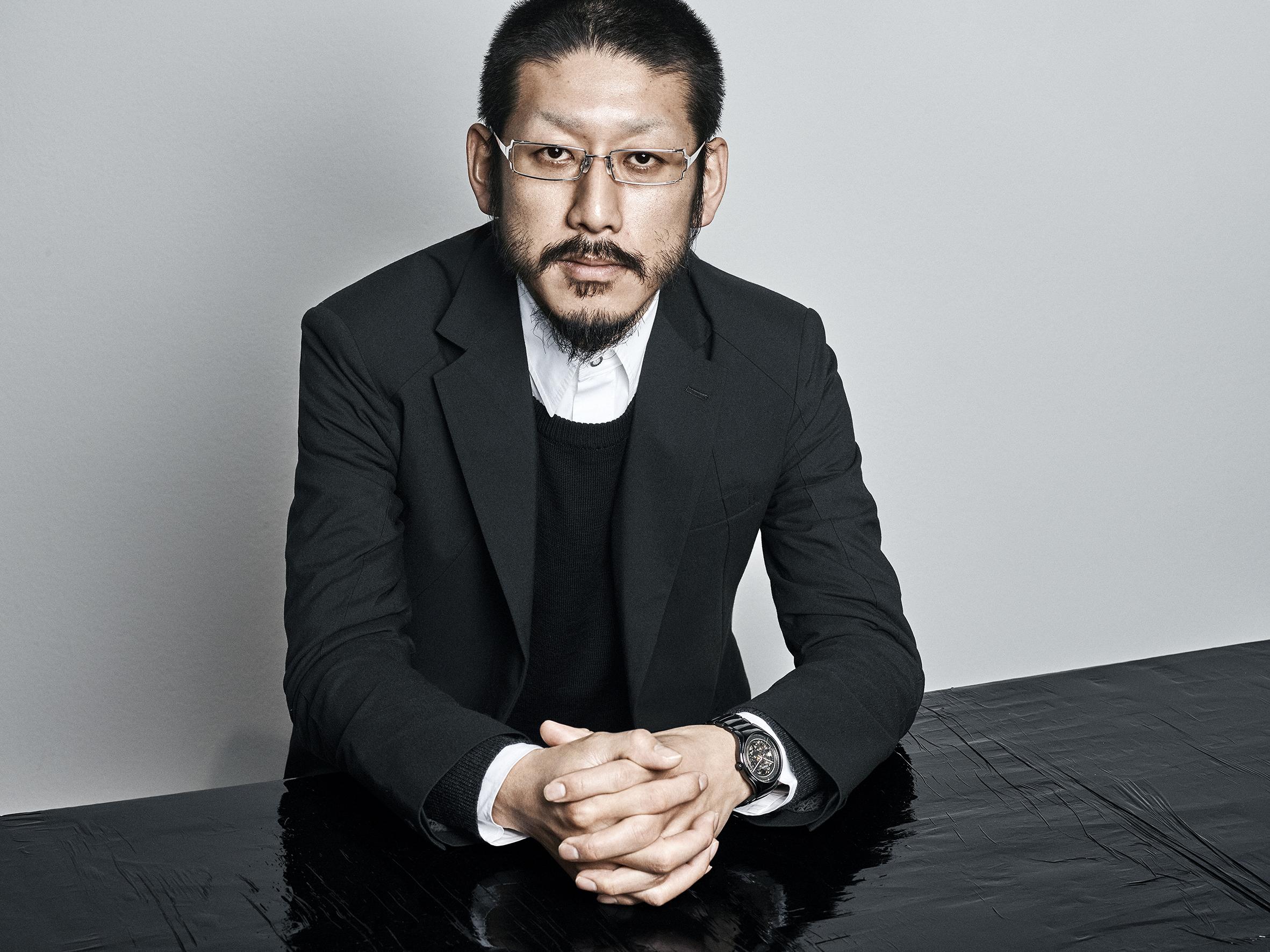 Japanese designer Kunihiko Morinaga