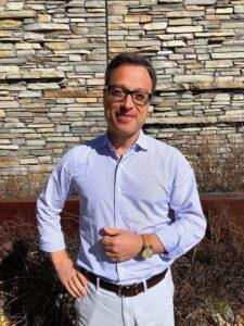 Nicolas Baretzki, the CEO of Montblanc