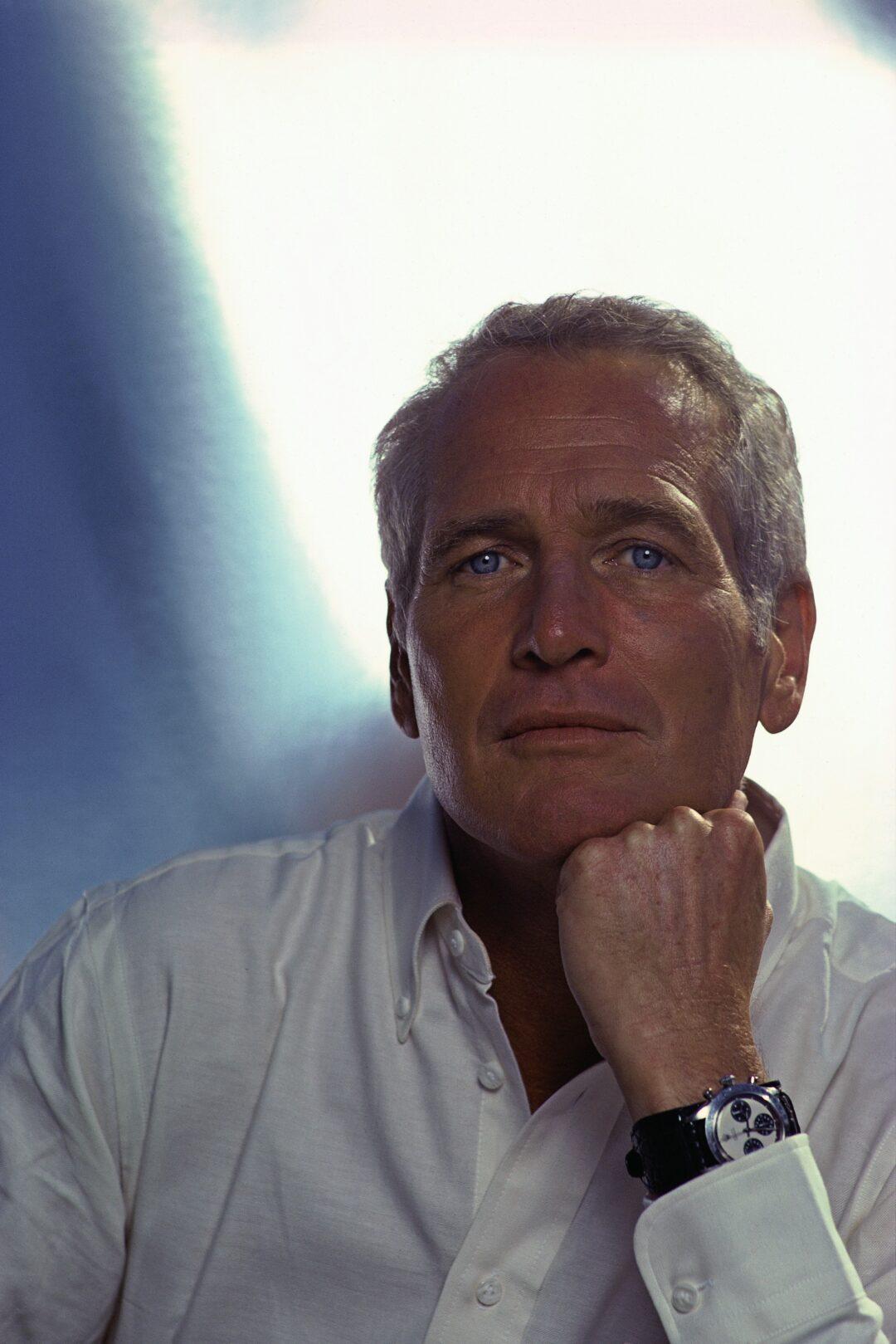 Paul Newman wearing his Daytona  PhotoCredit_Douglas-Kirkland-Corbis-via-Getty-Images