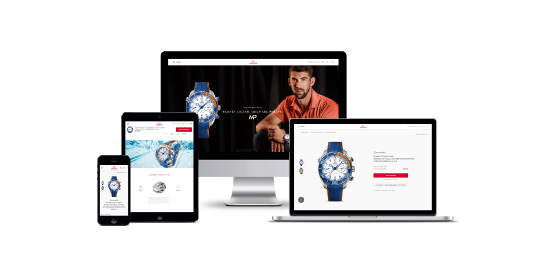 Omega launches its first e-commerce platform