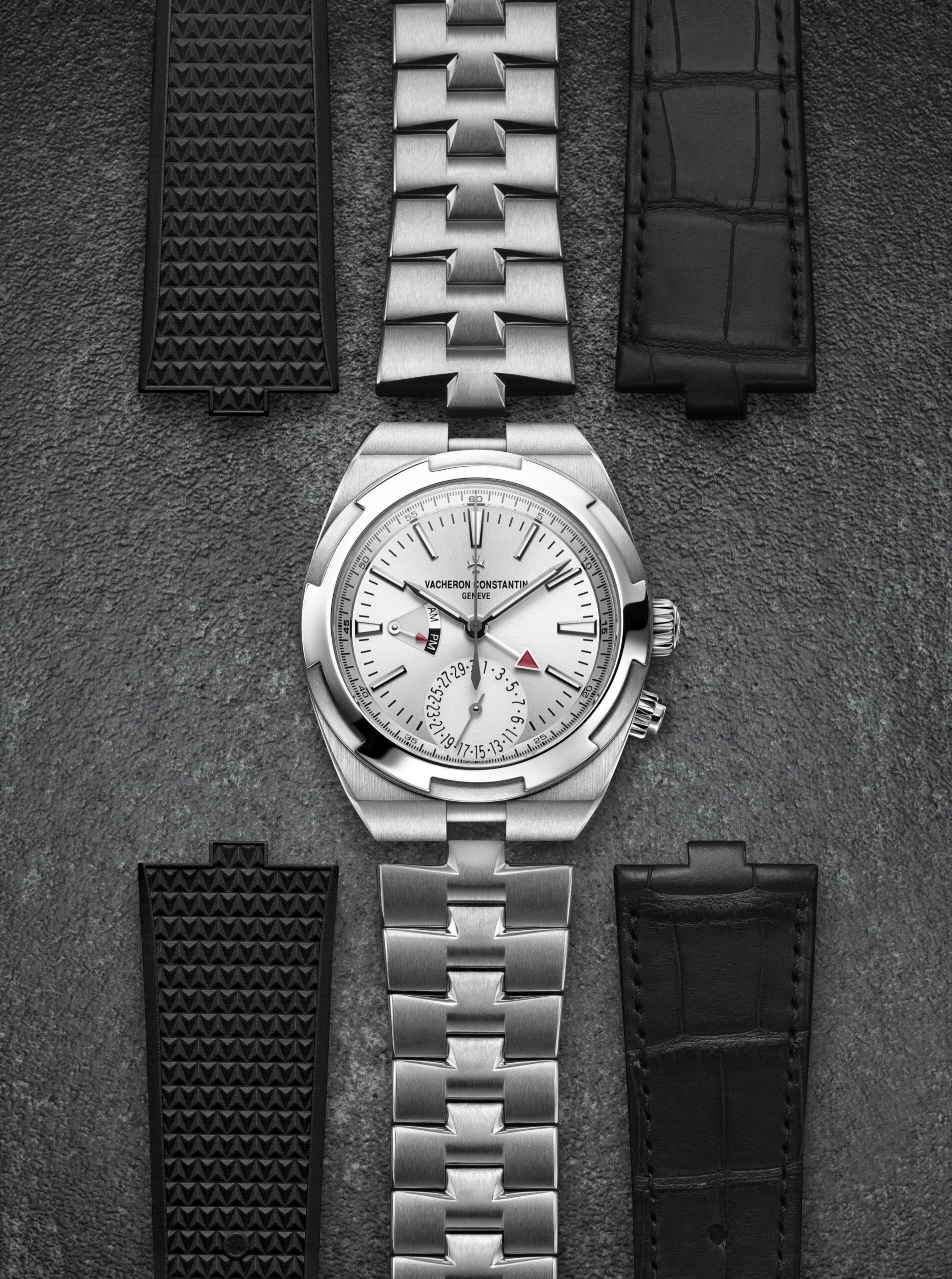 Vacheron Constantin Overseas interchangeable bracelet/straps