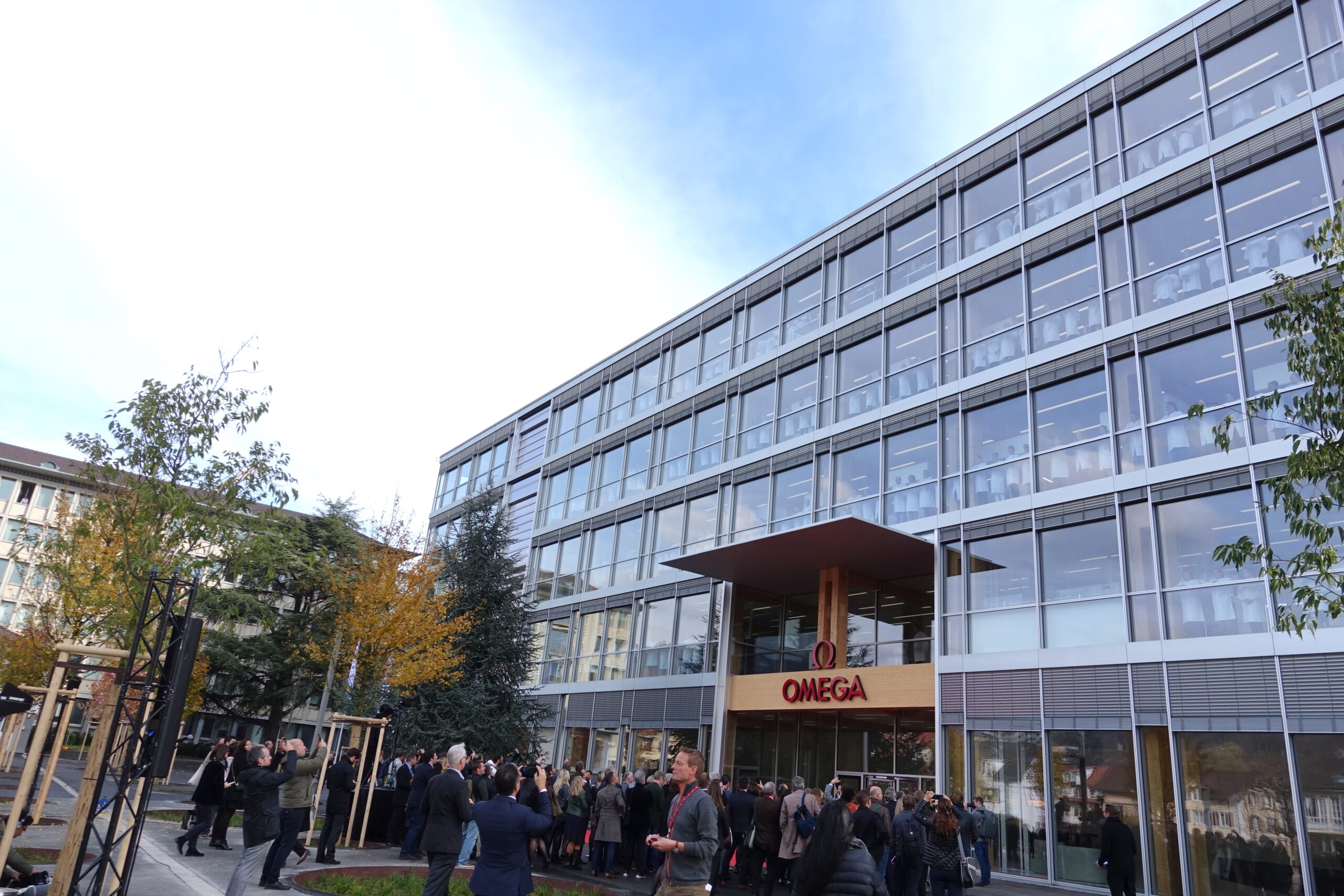 Omega´s newest factory in Biel / Switzerland