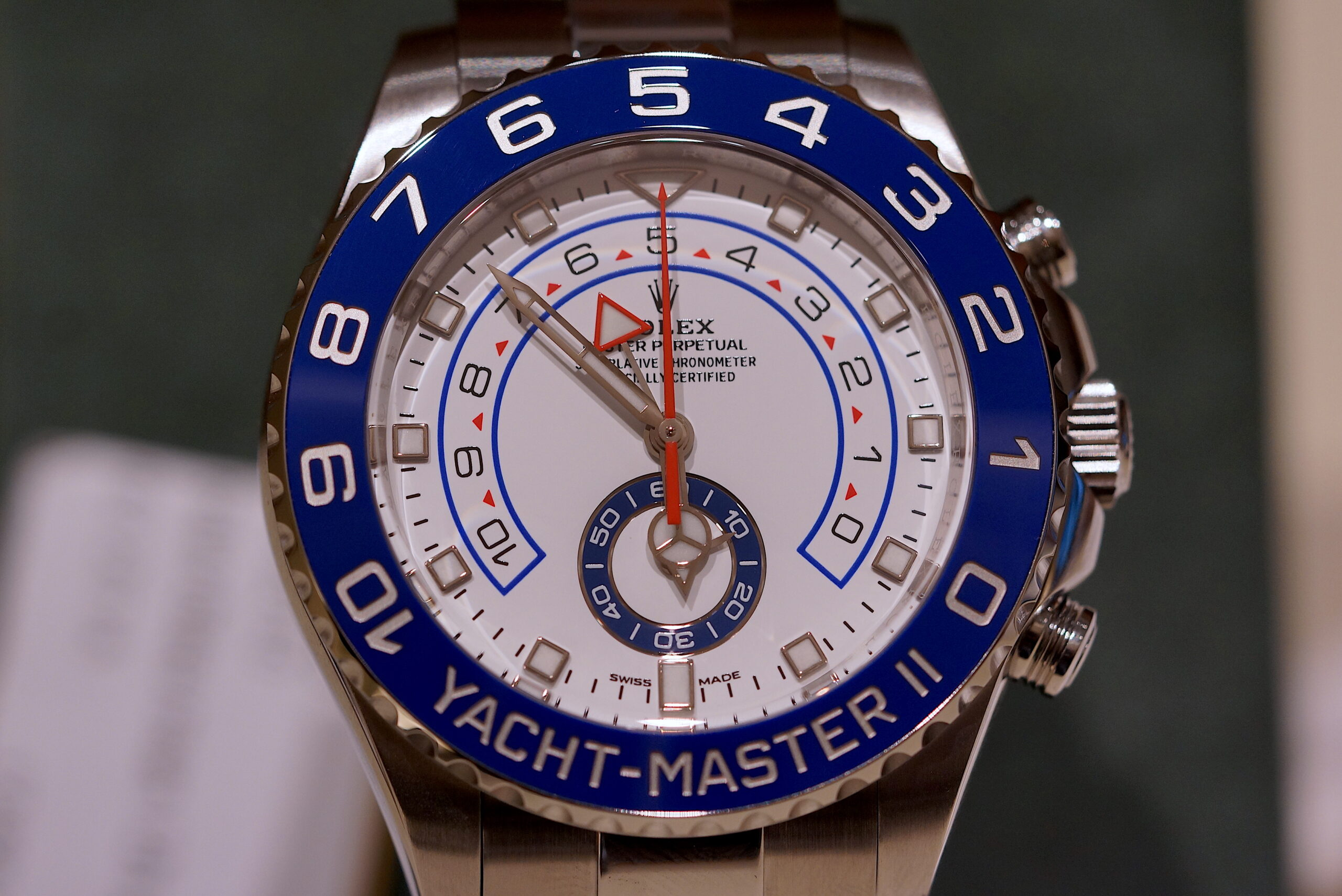 Rolex Oyster Perpetual 'Yacht-MasterII'