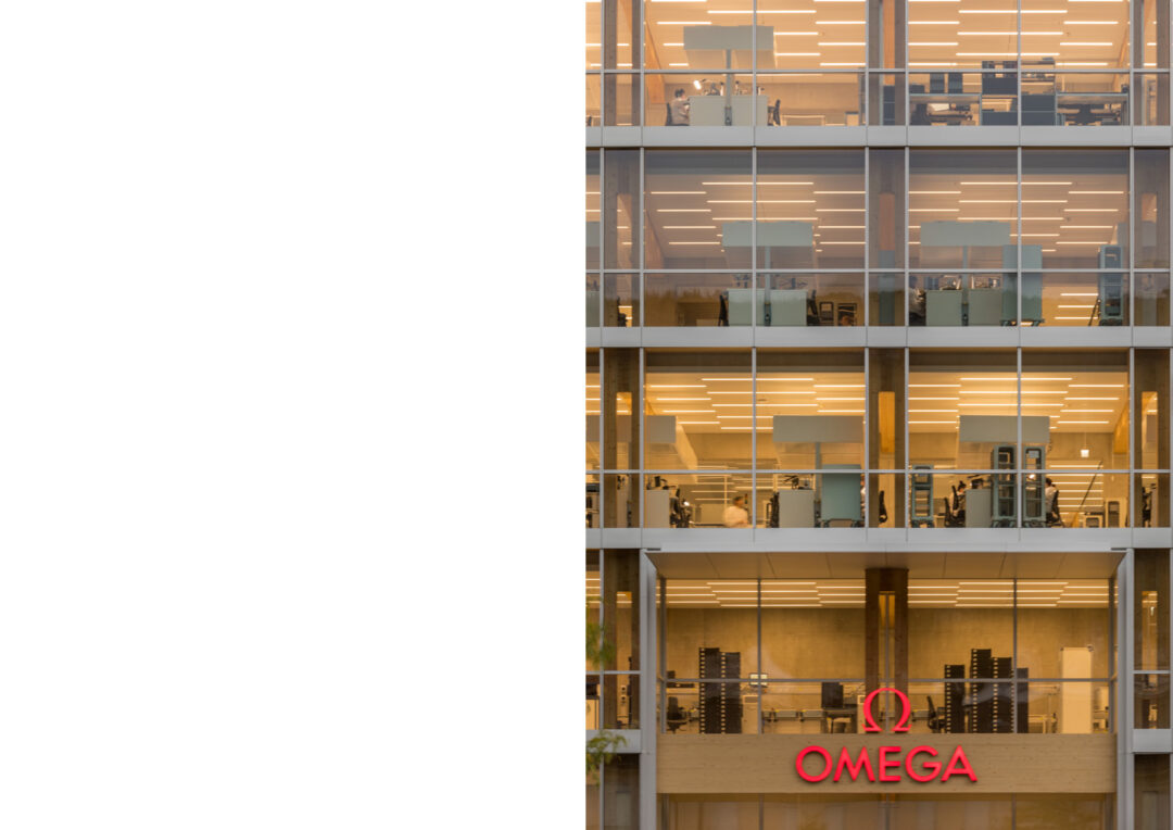 A presentation of Omega's newest factory in Biel / Switzerland