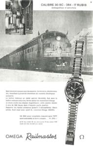 Omega 'Railmaster'
