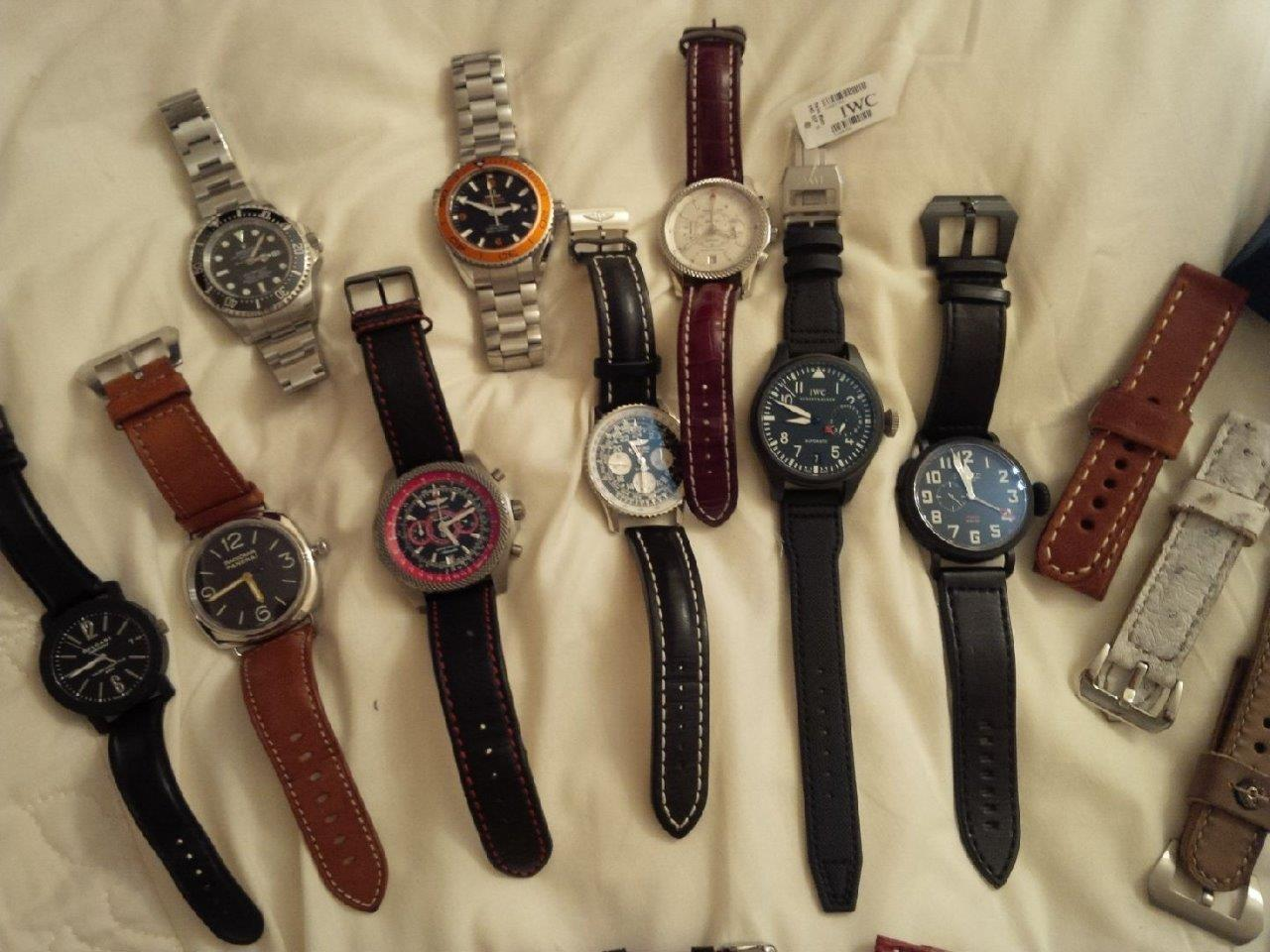 Sidarth's Watch Collection
