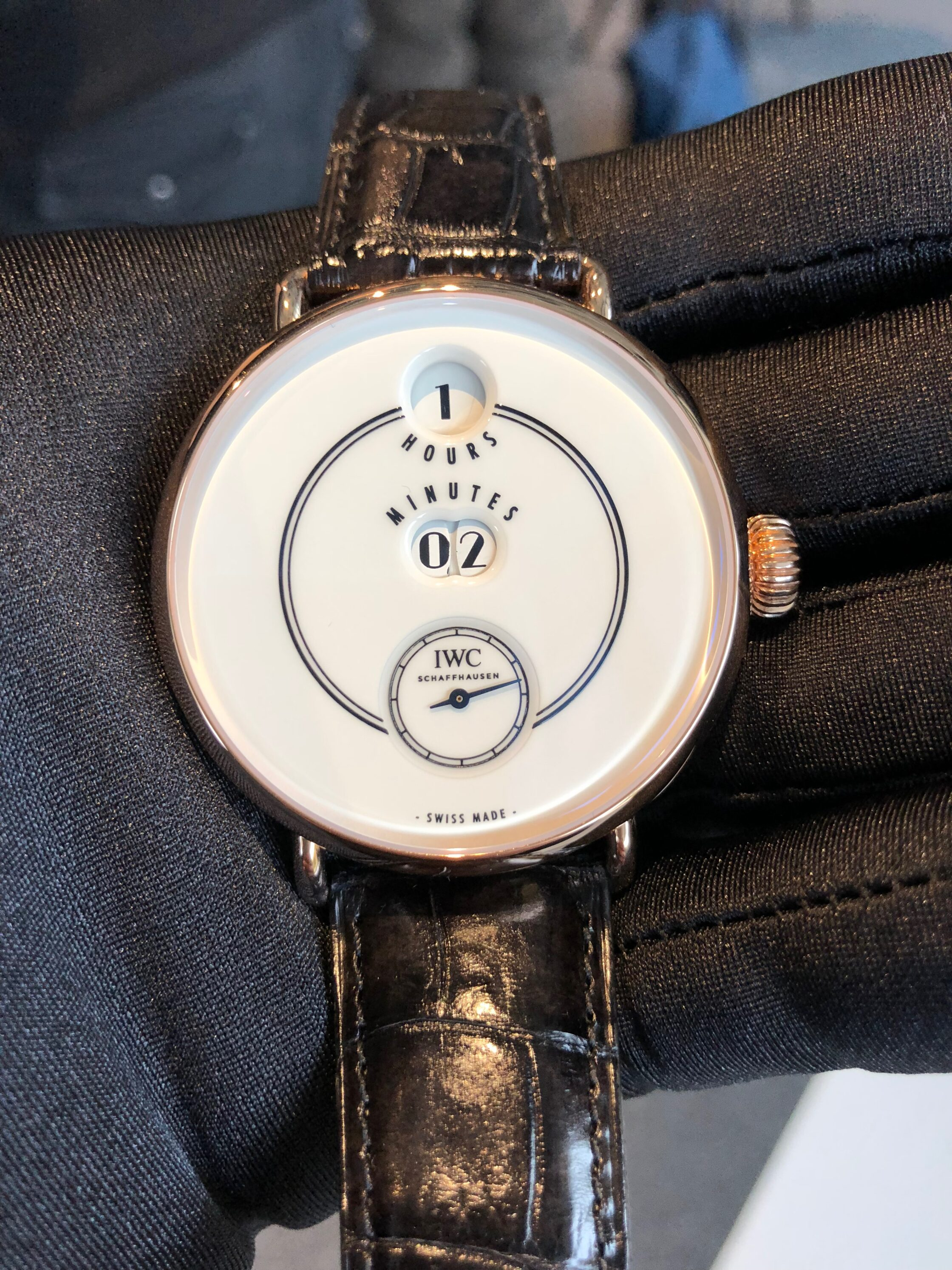 The IWC Tribute to Pallweber Edition 150 Years wristwatch