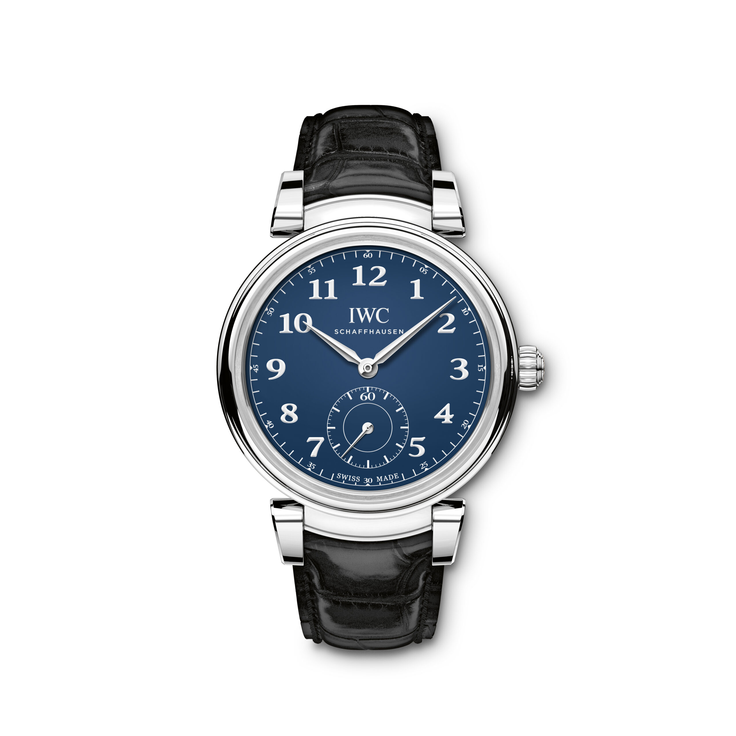 "IWC Da Vinci Automatic Edition ""150 Years"" (Ref. 3581) Stainless steel, blue dial with lacquered finish, rhodium-plated hands"