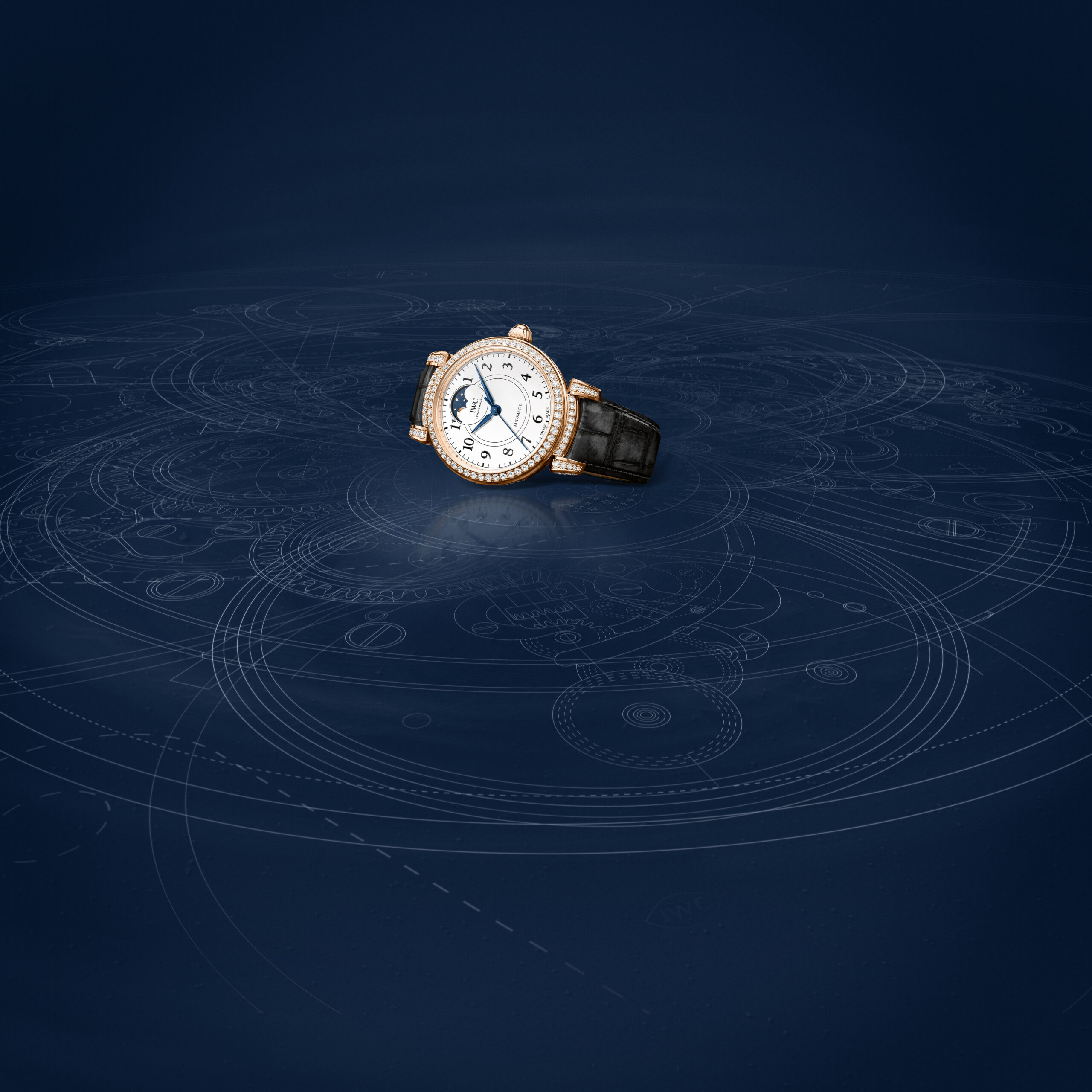 The IWC Da Vinci Automatic Moon Phase 36 Edition 150 Years Ref. IW459304