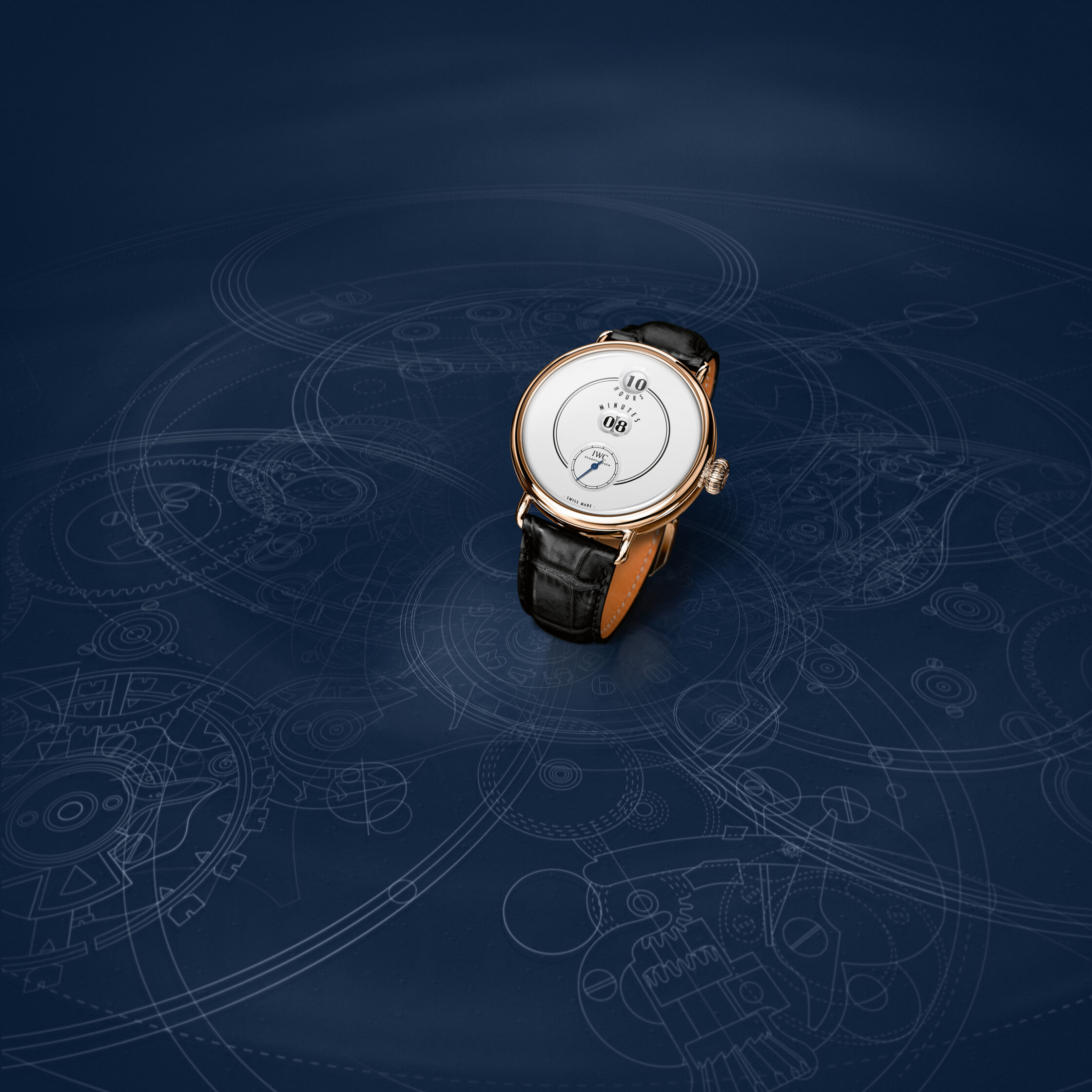 IWC Tribute to Pallweber Edition 150 Years Ref. IW505002