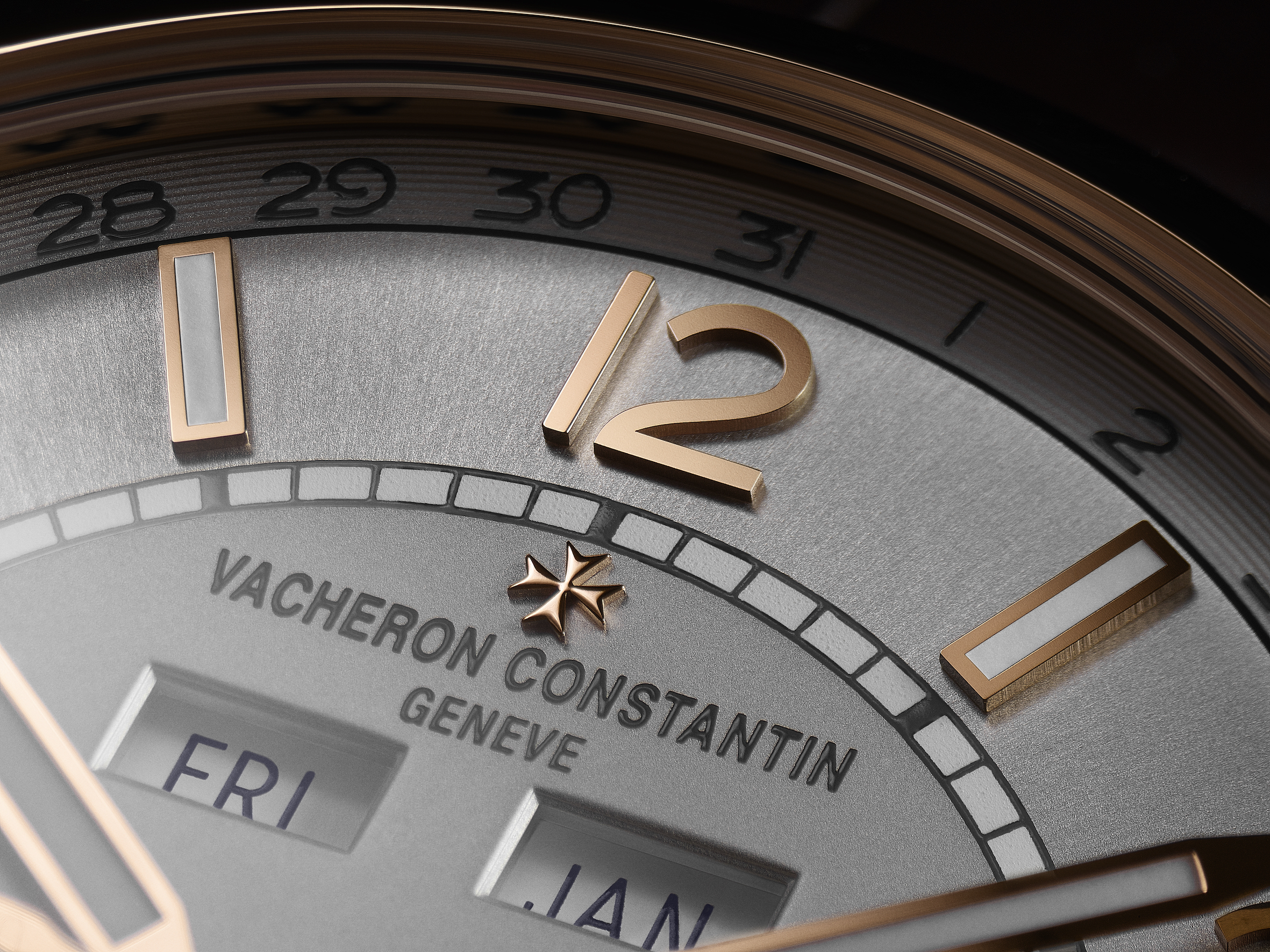 Vacheron Constantin FIFTYSIX complete calendar with precision moon phase. The FIFTYSIX complete calendar model is the collection highlight.