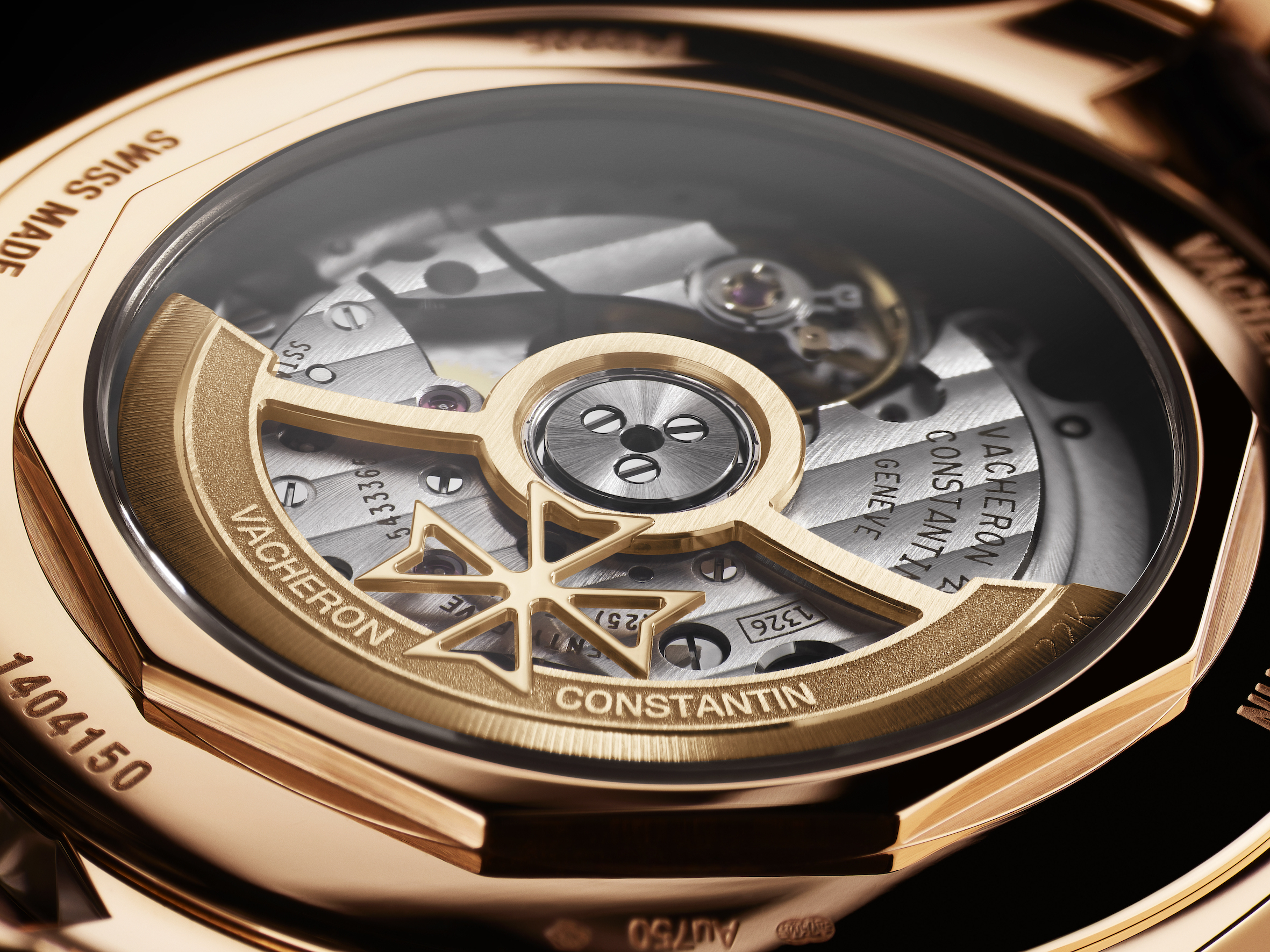 Vacheron Constantin FIFTYSIX self-winding. The 40 mm-diameter steel or 18 carats 5N pink gold case of this model houses a brand-new mechanical self-winding movement, Calibre 1326, endowed with a 48-hour power reserve. Featuring the 22 carats openworked Maltese cross-shaped oscillating weight, this watch displaying the hours, minutes, central seconds indication is equipped with a stop-seconds device.