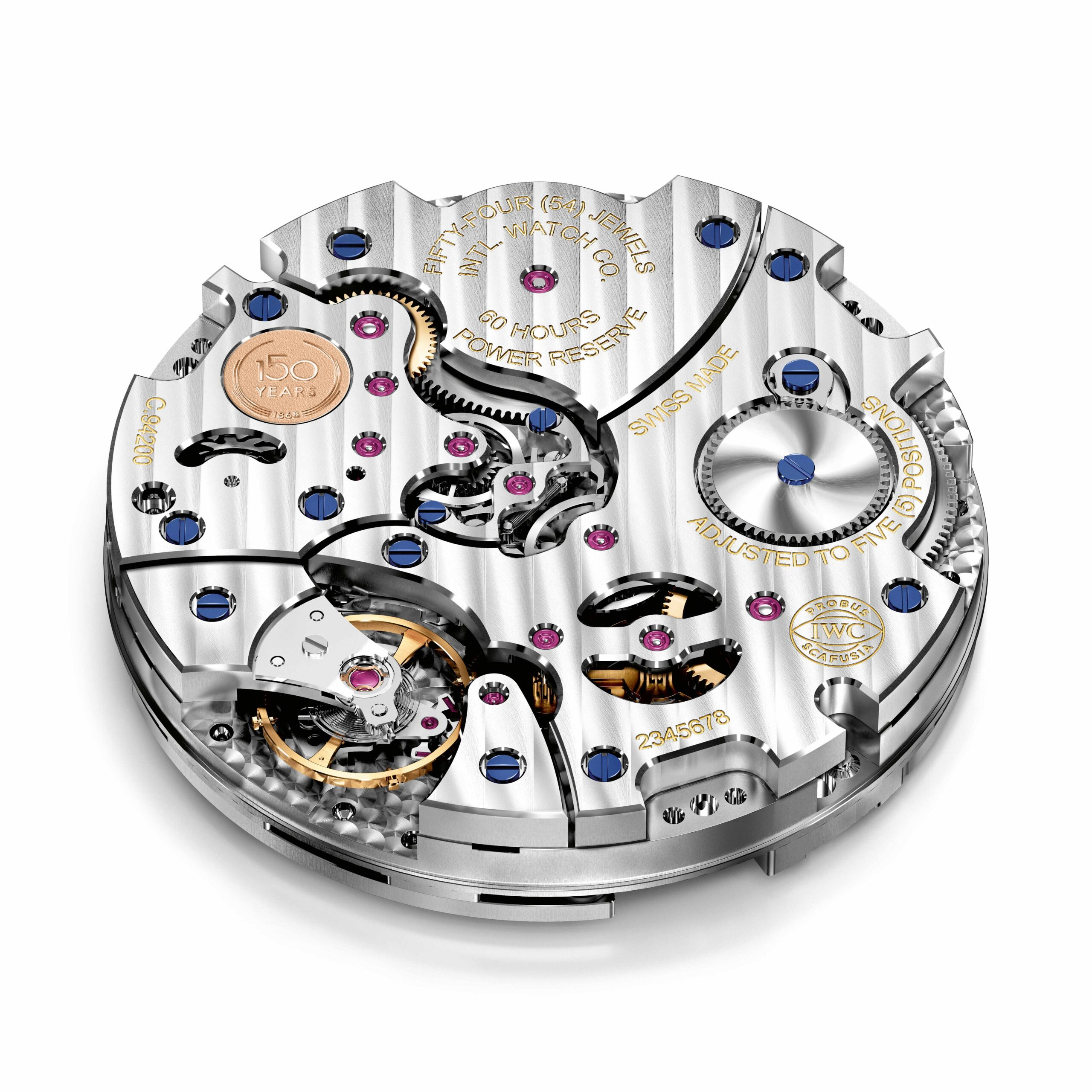 "IWC Tribute to Pallweber Edition ""150 Years"" (Ref. IW505002) IWC-manufactured 94200 calibre"