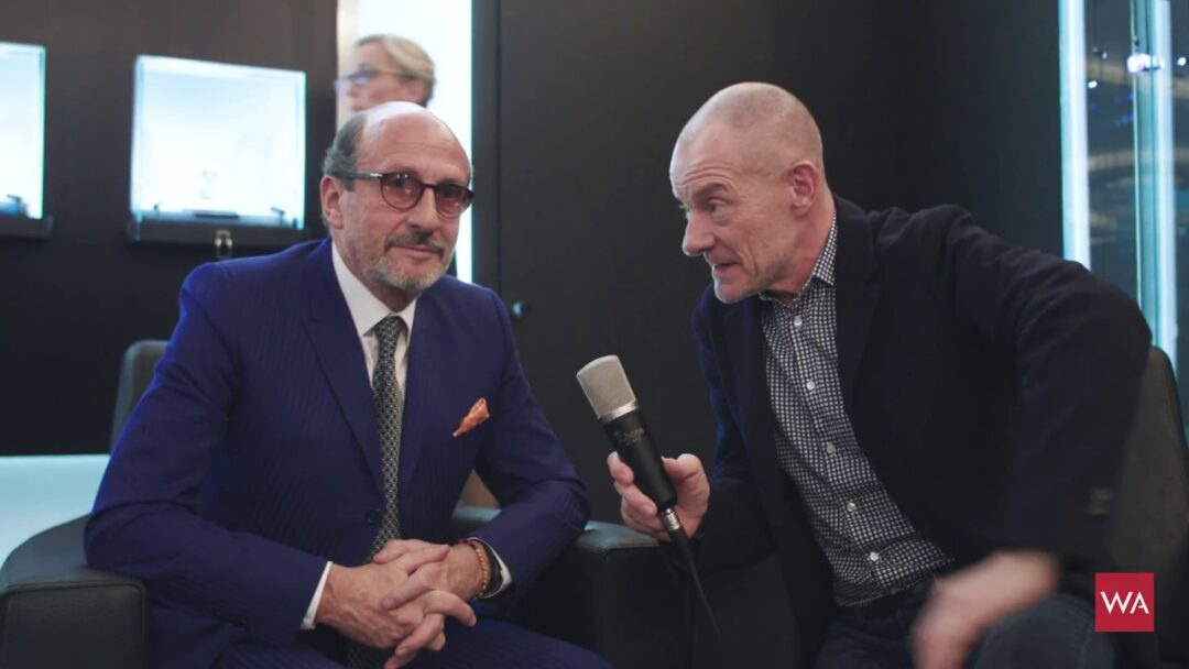 SIHH 2018: Interview with Richard Mille CEO Richard Mille (special guest: Wei Koh)