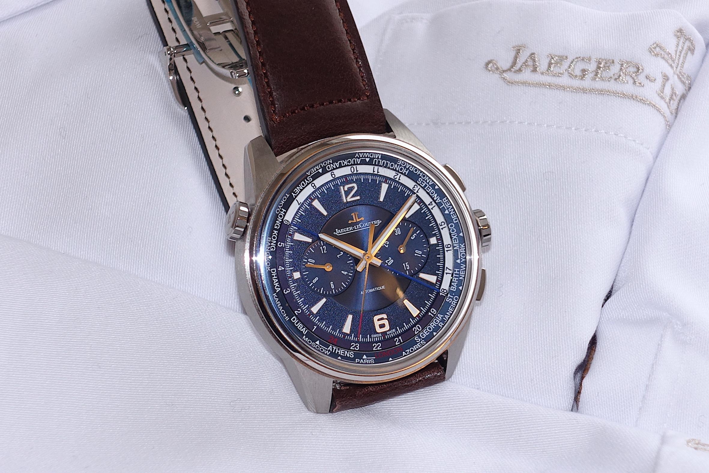 Jaeger-LeCoultre 'Polaris Chronograph World Time'