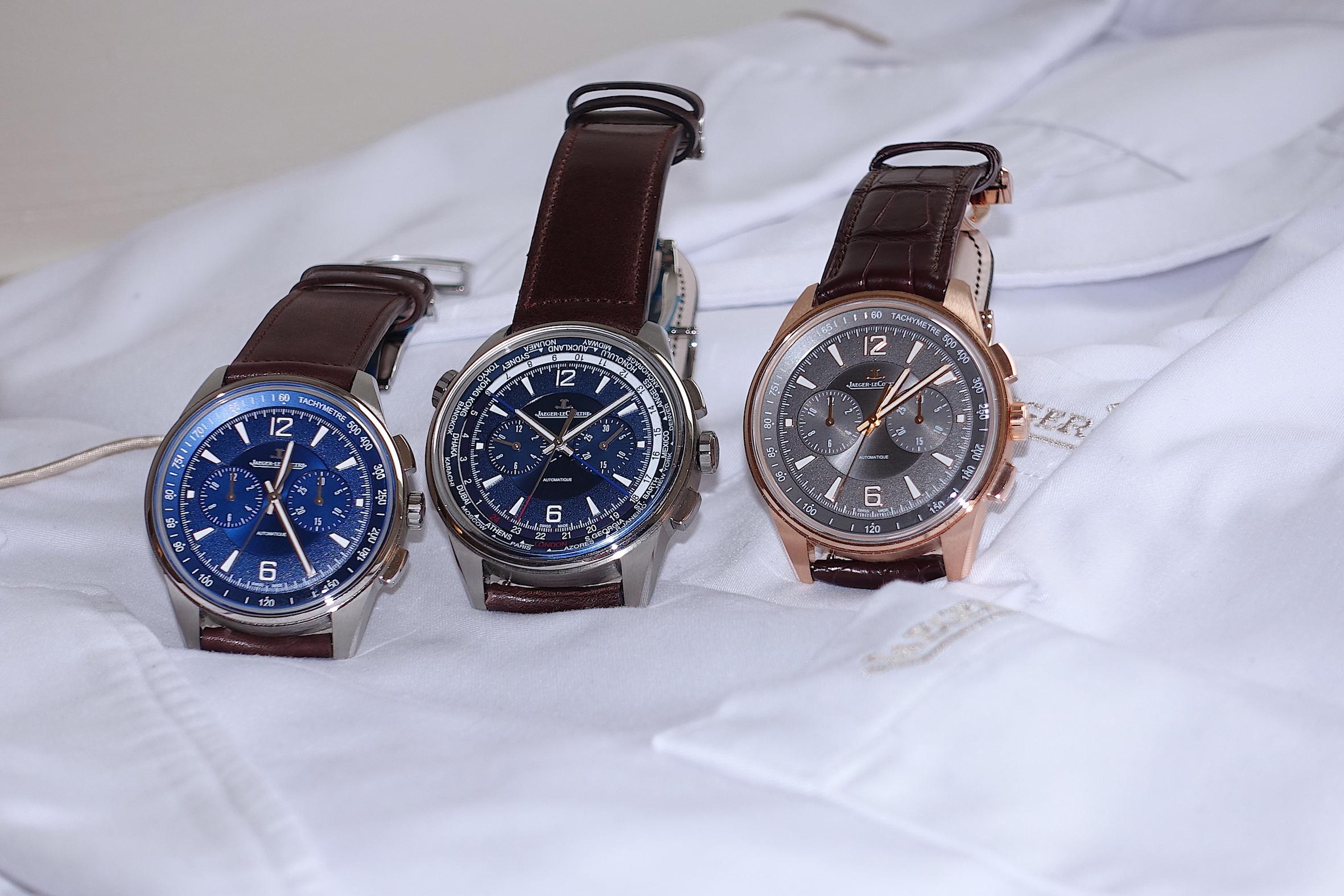Jaeger-LeCoultre 'Polaris Chronograph' and Jaeger-LeCoultre 'Polaris Chronograph World Time'