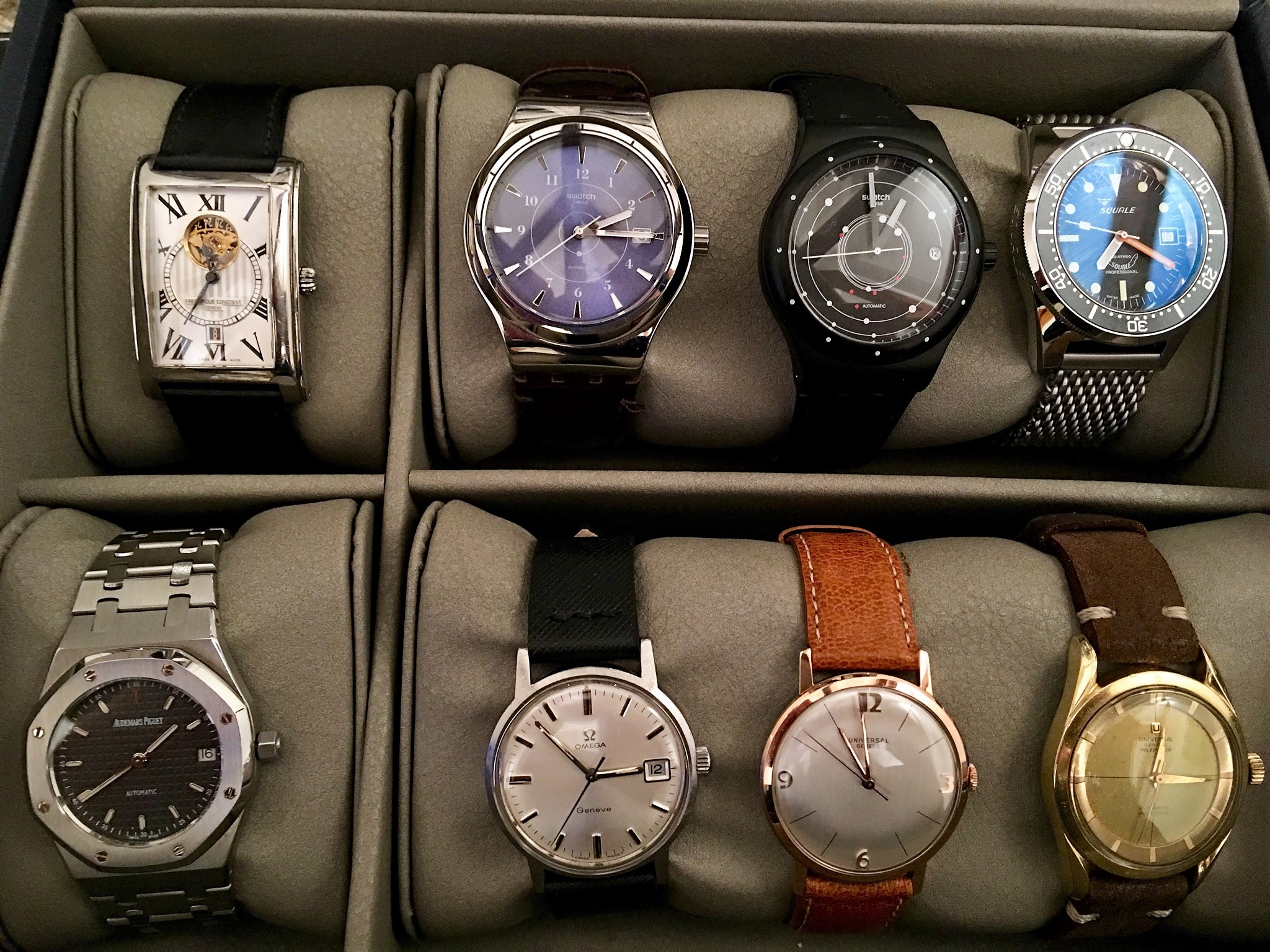 Modern Watches & Vintage Keepers
