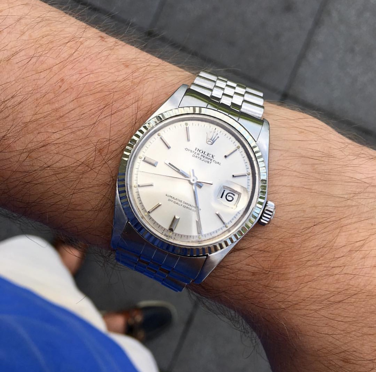Rolex Datejust 1601 from 1969