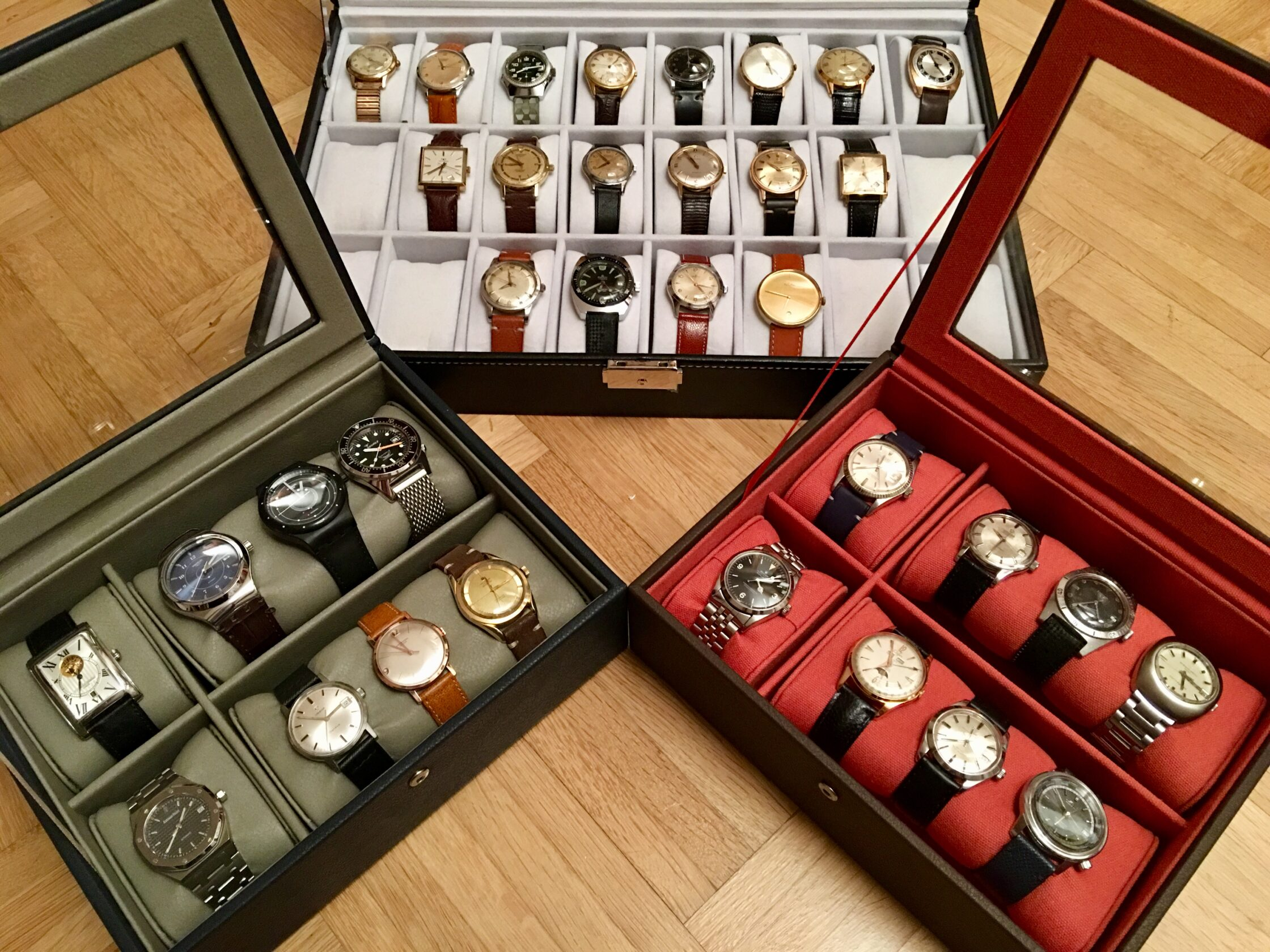 Benoît's Watch Collection (almost complete)