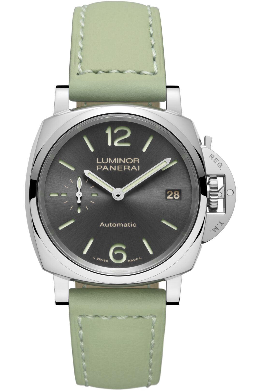 Panerai LUMINOR DUE 3 DAYS AUTOMATIC ACCIAIO – 38mm PAM00755