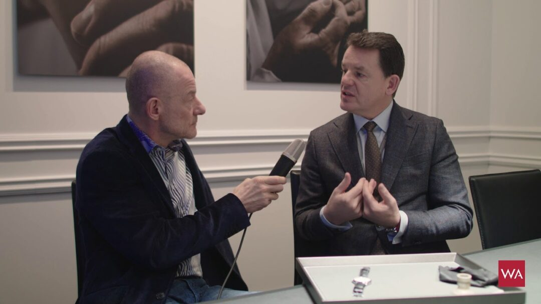 SIHH 2018: Interview with Baume & Mercier CEO Alain Zimmermann (Part 1)